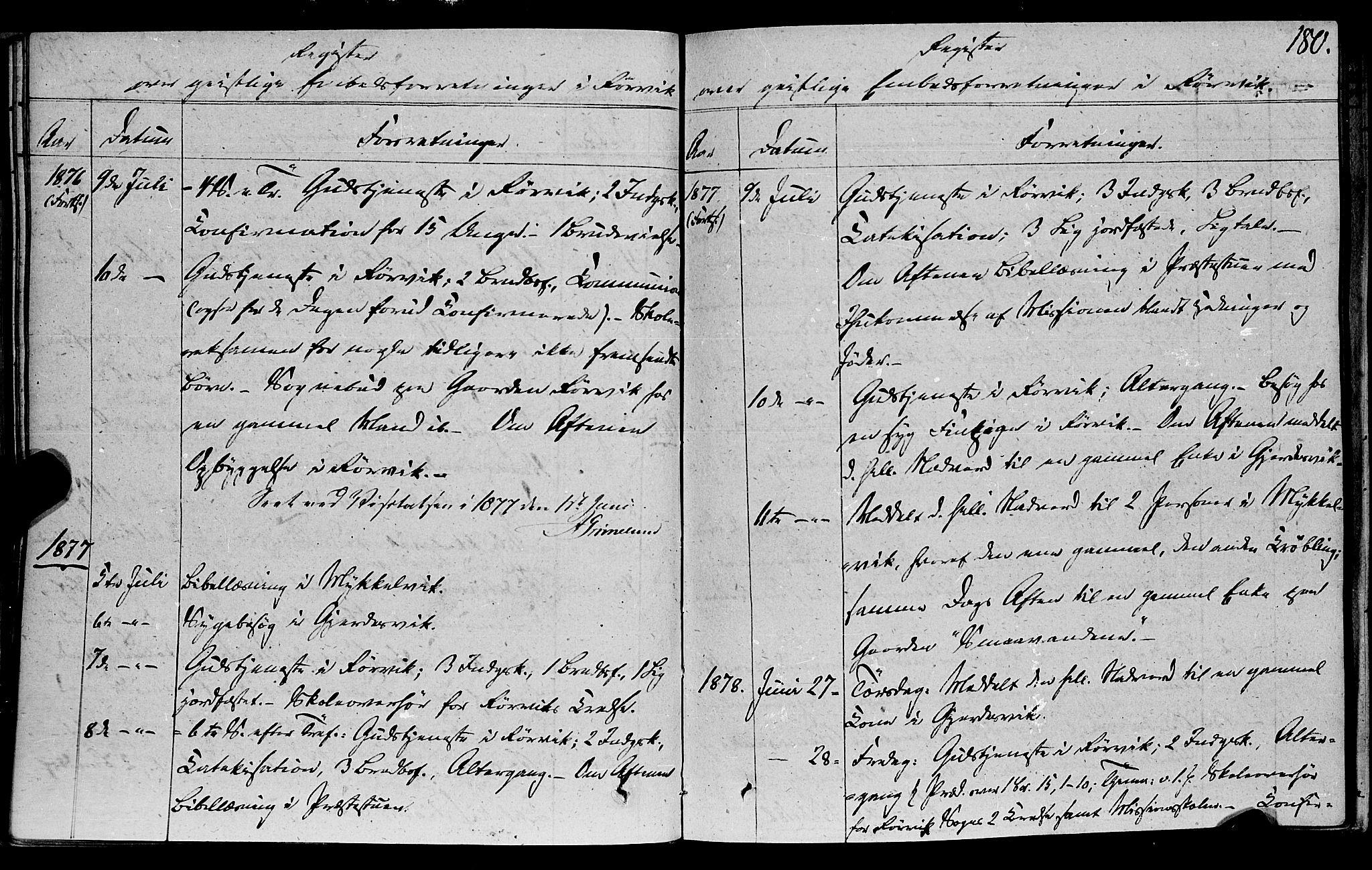 SAT, Ministerialprotokoller, klokkerbøker og fødselsregistre - Nord-Trøndelag, 762/L0538: Ministerialbok nr. 762A02 /1, 1833-1879, s. 180