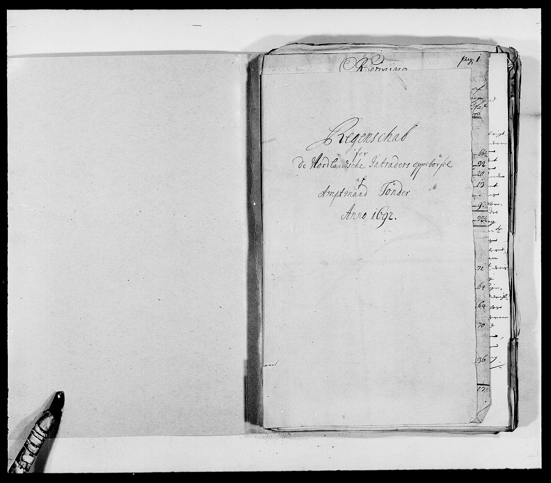 RA, Rentekammeret inntil 1814, Reviderte regnskaper, Fogderegnskap, R68/L4751: Fogderegnskap Senja og Troms, 1690-1693, s. 202