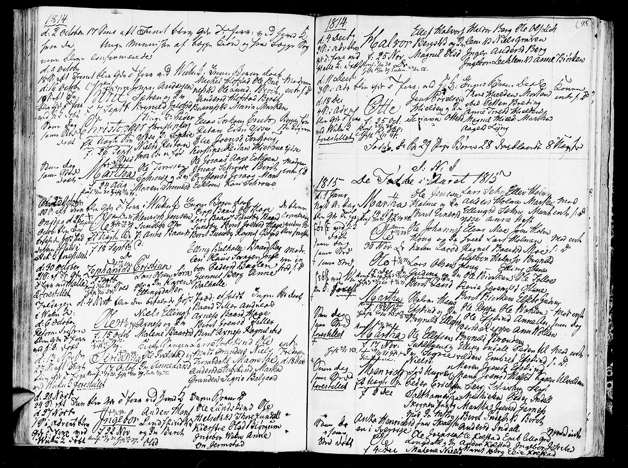 SAT, Ministerialprotokoller, klokkerbøker og fødselsregistre - Nord-Trøndelag, 723/L0233: Ministerialbok nr. 723A04, 1805-1816, s. 98