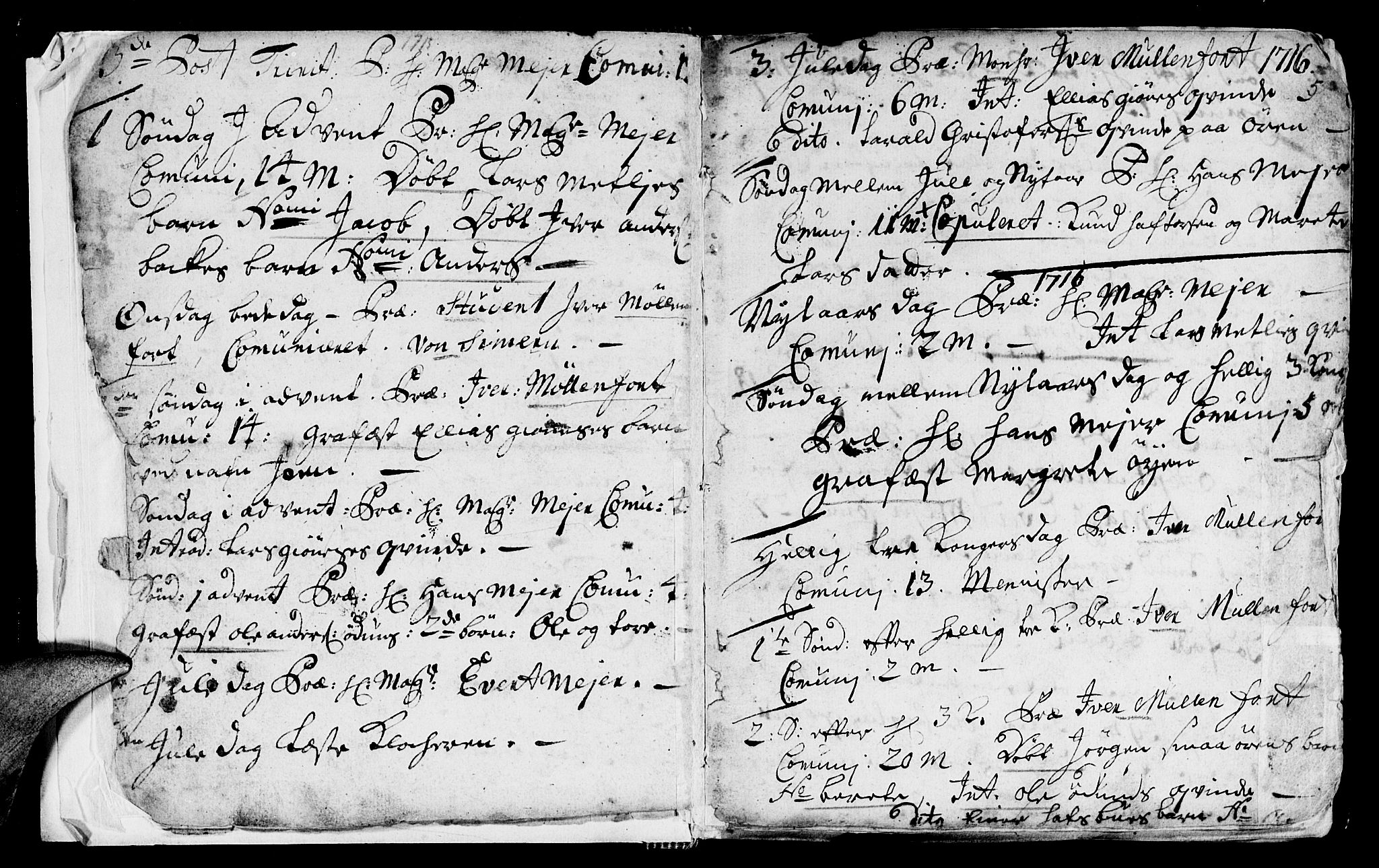 SAT, Ministerialprotokoller, klokkerbøker og fødselsregistre - Sør-Trøndelag, 668/L0812: Klokkerbok nr. 668C01, 1715-1742, s. 5