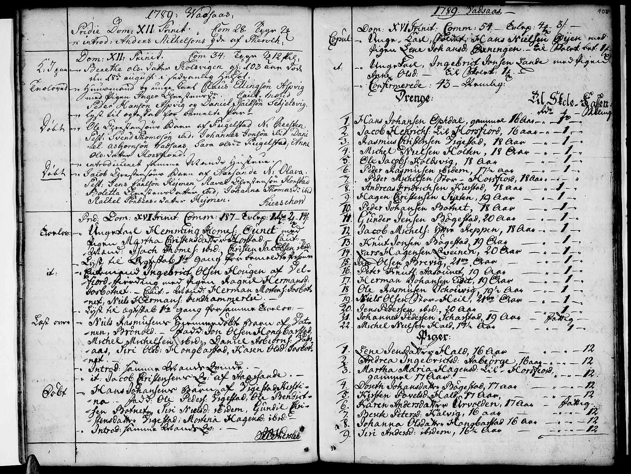 SAT, Ministerialprotokoller, klokkerbøker og fødselsregistre - Nordland, 810/L0137: Ministerialbok nr. 810A01, 1752-1817, s. 108