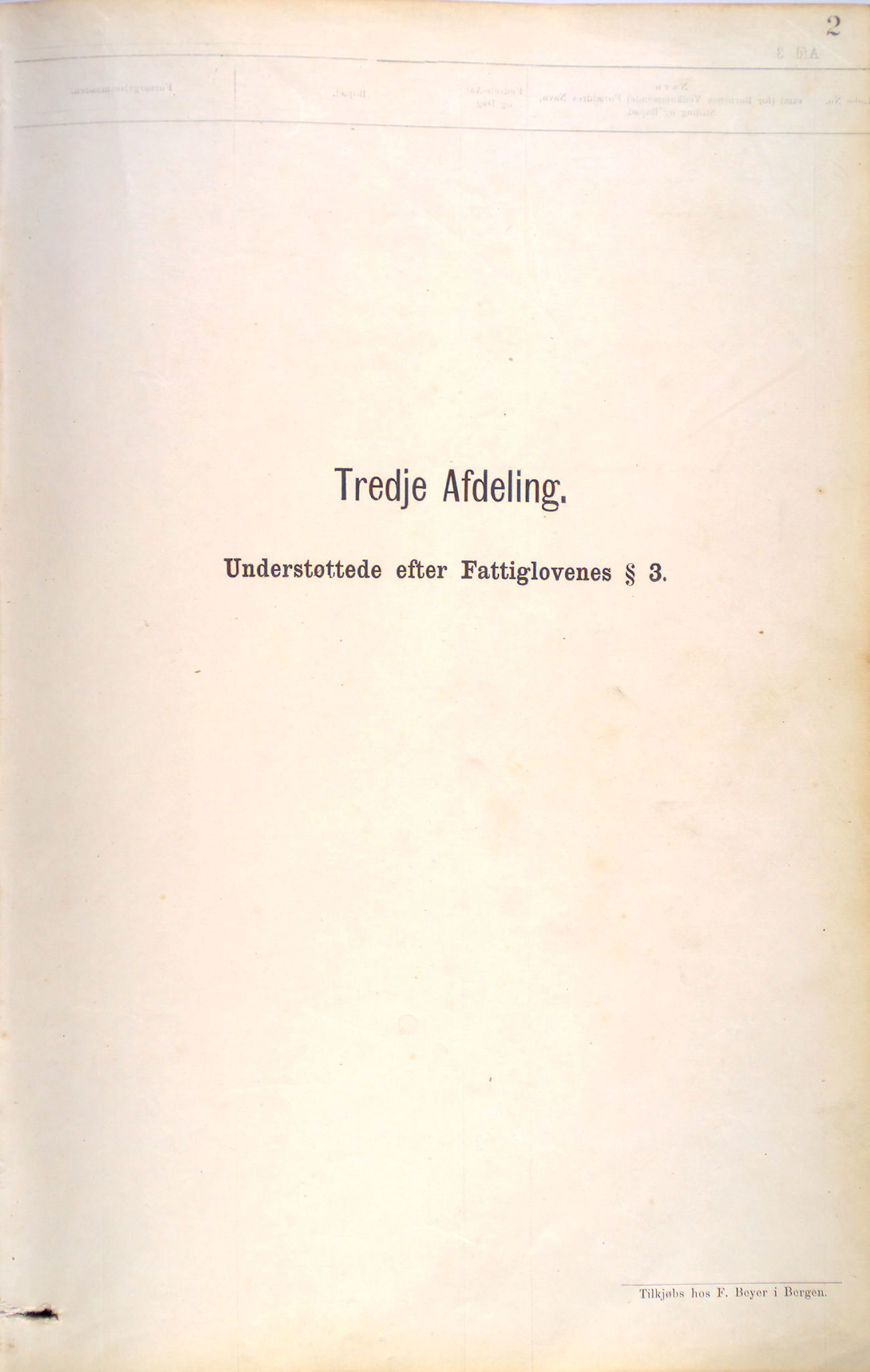 BBA, Bergen fattigvesen, 1879-1885, s. 2