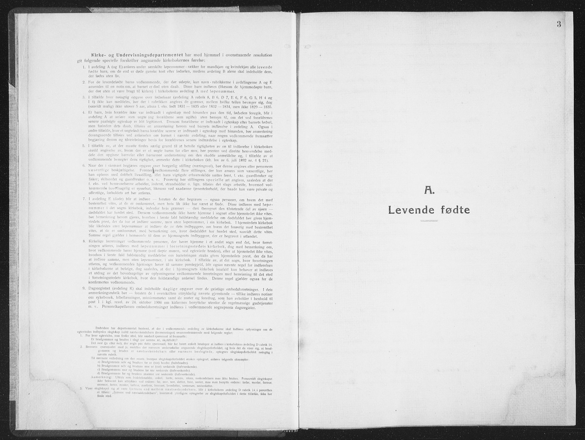 SAT, Ministerialprotokoller, klokkerbøker og fødselsregistre - Sør-Trøndelag, 659/L0747: Klokkerbok nr. 659C04, 1913-1938, s. 3