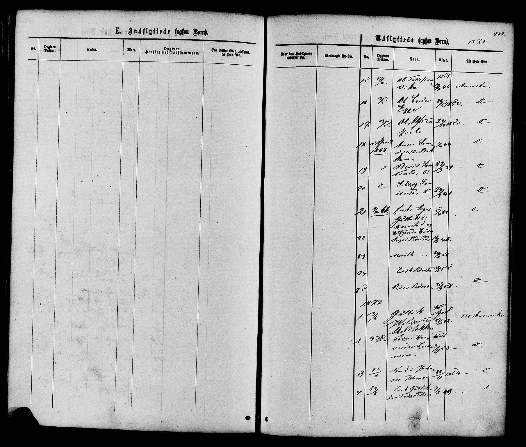 SAH, Vestre Slidre prestekontor, Ministerialbok nr. 3, 1865-1880, s. 283