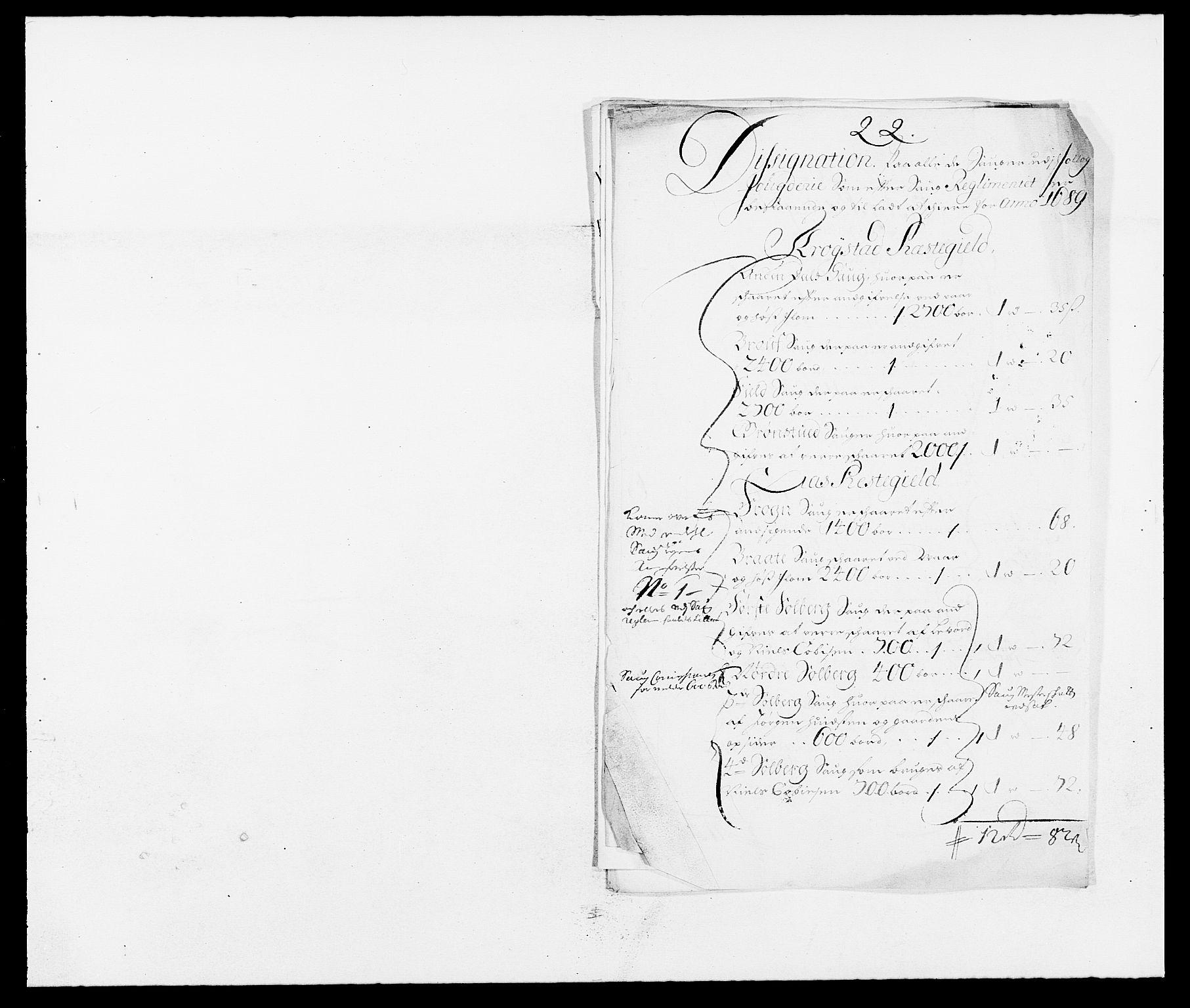 RA, Rentekammeret inntil 1814, Reviderte regnskaper, Fogderegnskap, R09/L0435: Fogderegnskap Follo, 1689-1691, s. 167