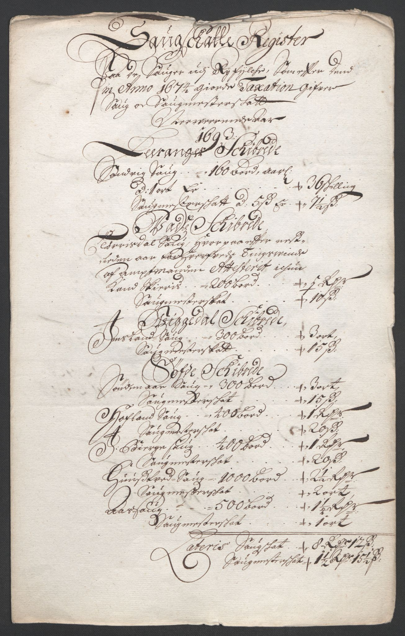 RA, Rentekammeret inntil 1814, Reviderte regnskaper, Fogderegnskap, R47/L2856: Fogderegnskap Ryfylke, 1689-1693, s. 646