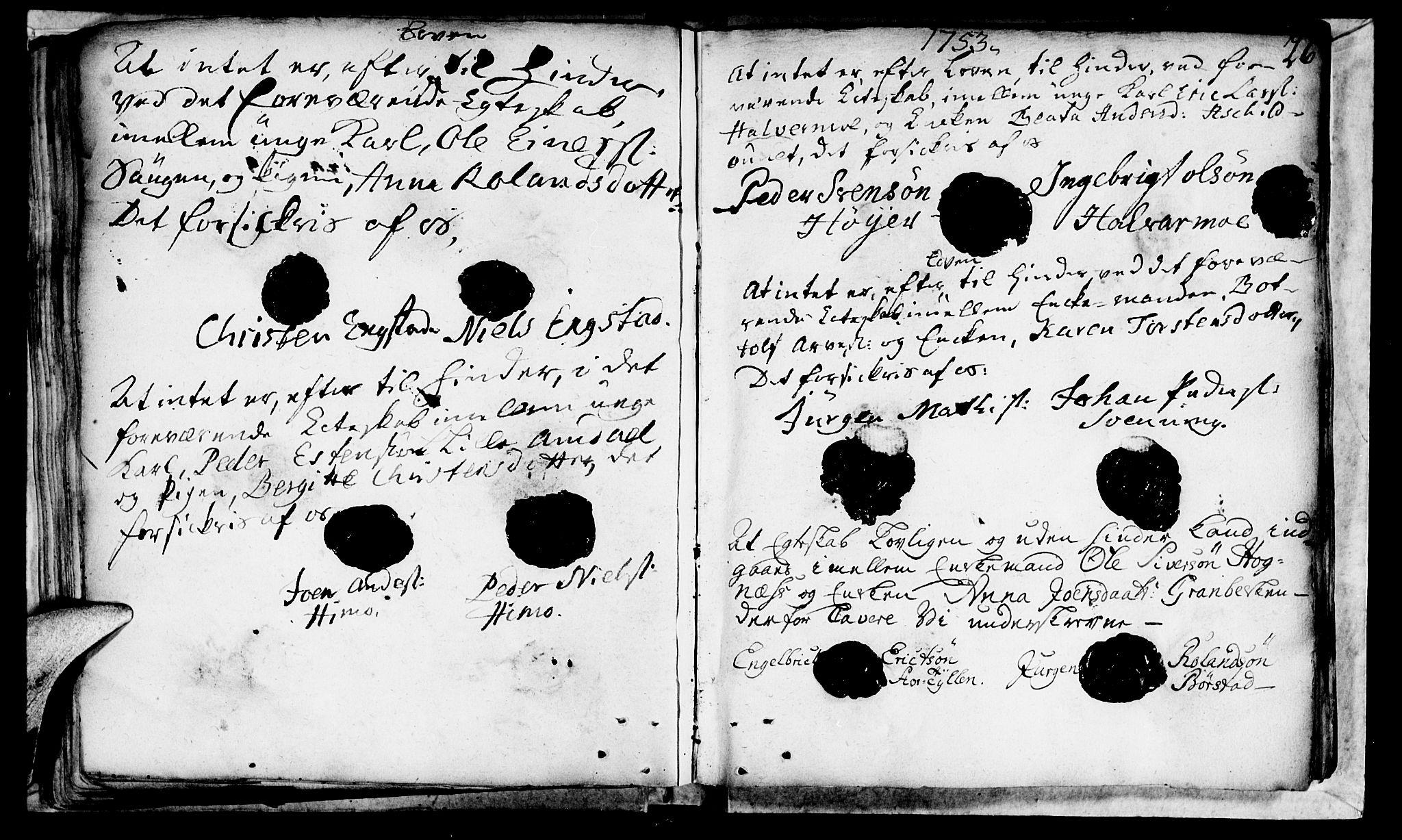 SAT, Ministerialprotokoller, klokkerbøker og fødselsregistre - Nord-Trøndelag, 764/L0541: Ministerialbok nr. 764A01, 1745-1758, s. 26