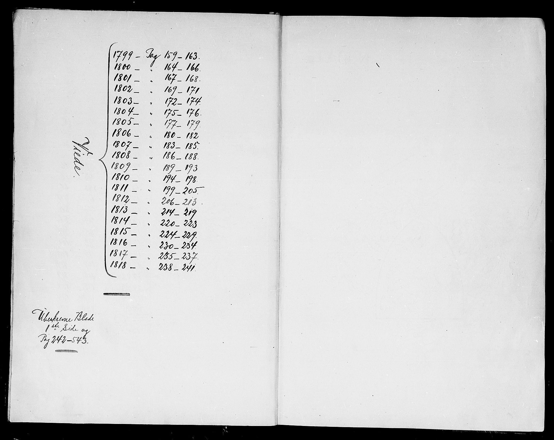 SAK, Kristiansand domprosti, F/Fa/L0005: Ministerialbok nr. A 5, 1776-1818