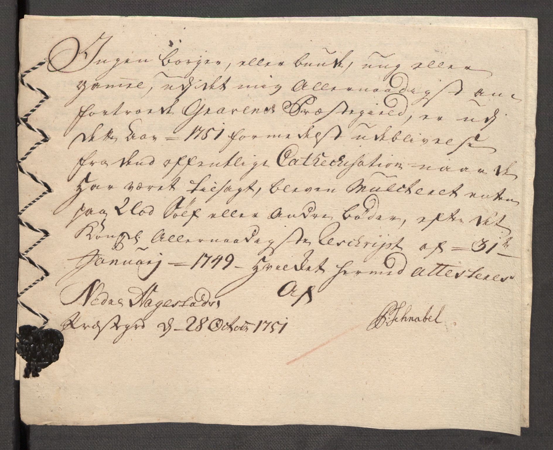 RA, Rentekammeret inntil 1814, Reviderte regnskaper, Fogderegnskap, R48/L3056: Fogderegnskap Sunnhordland og Hardanger, 1751, s. 285