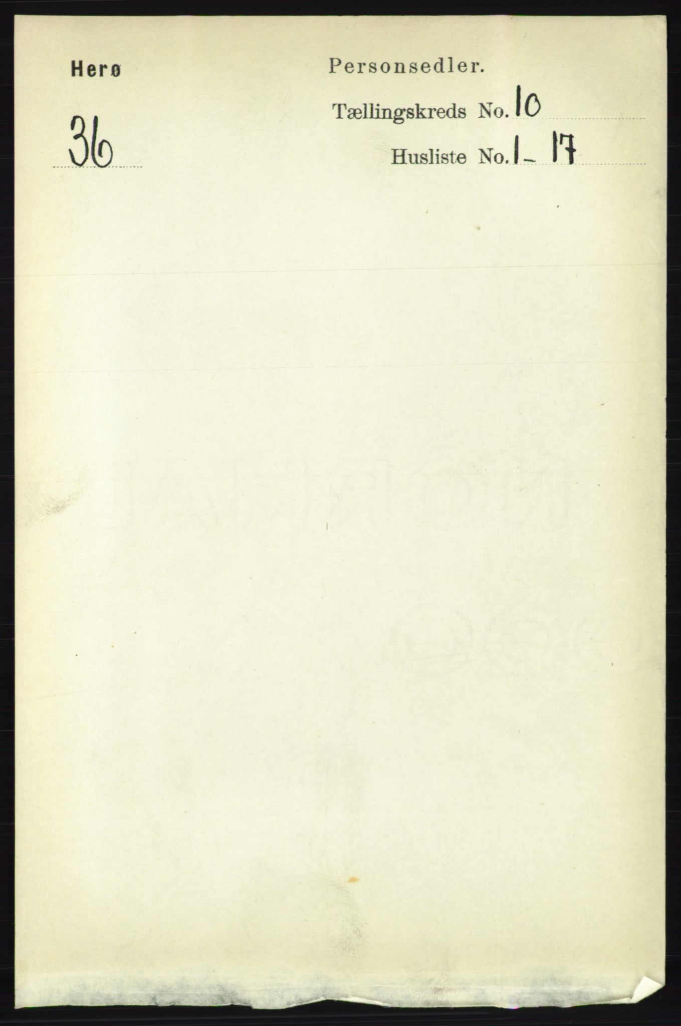 RA, Folketelling 1891 for 1818 Herøy herred, 1891, s. 3911