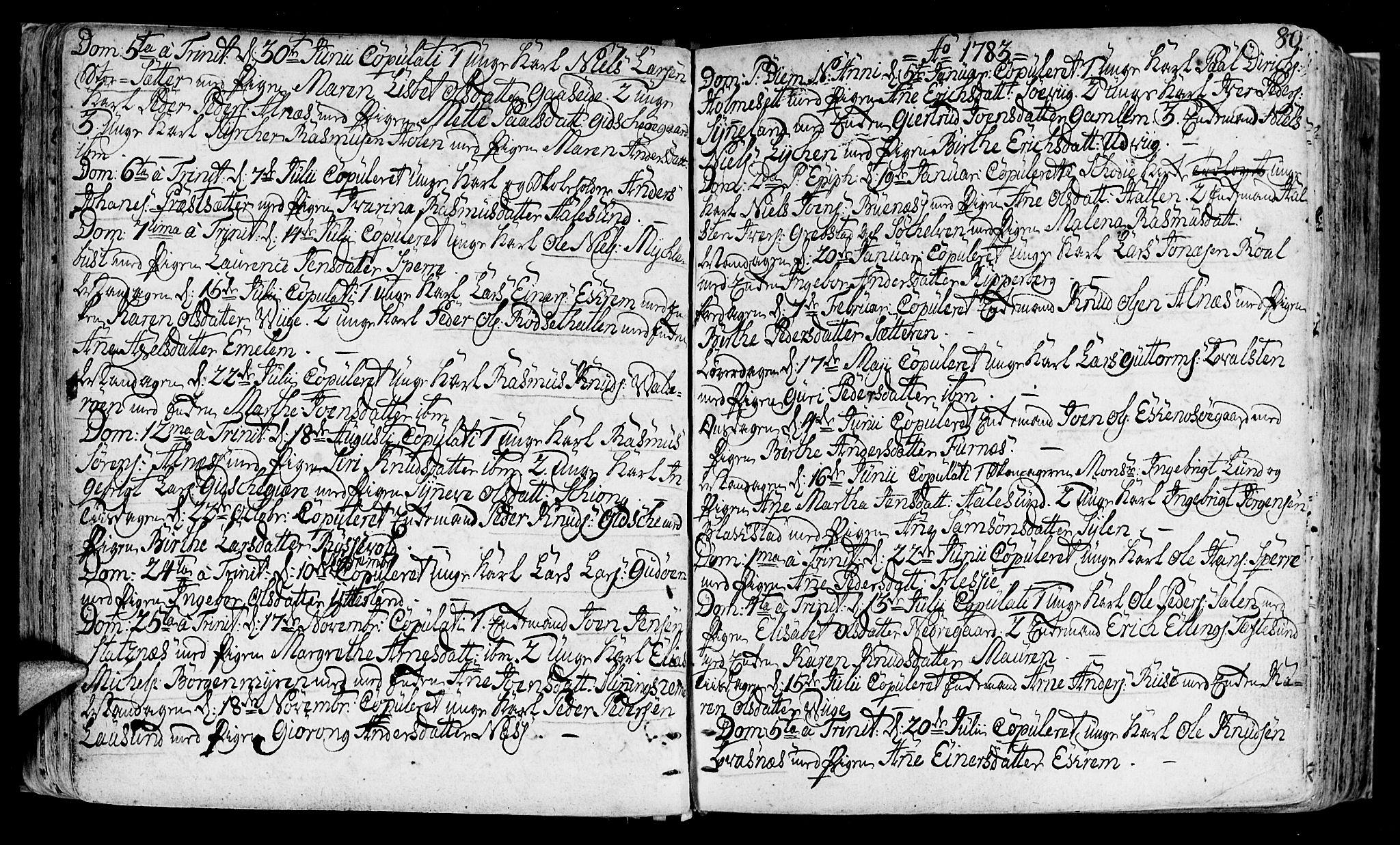 SAT, Ministerialprotokoller, klokkerbøker og fødselsregistre - Møre og Romsdal, 528/L0392: Ministerialbok nr. 528A03, 1762-1800, s. 80