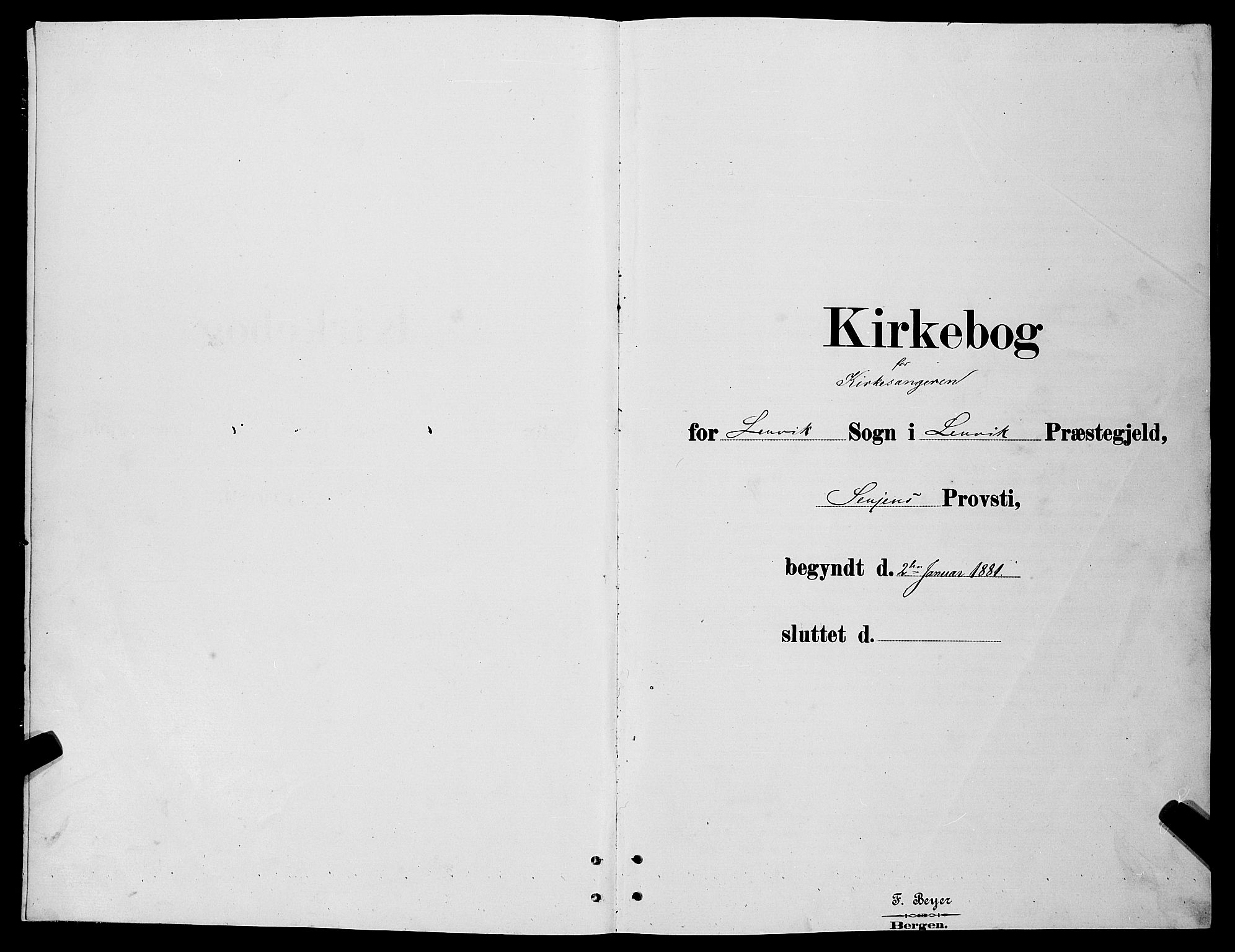 SATØ, Lenvik sokneprestembete, H/Ha: Klokkerbok nr. 6, 1881-1889
