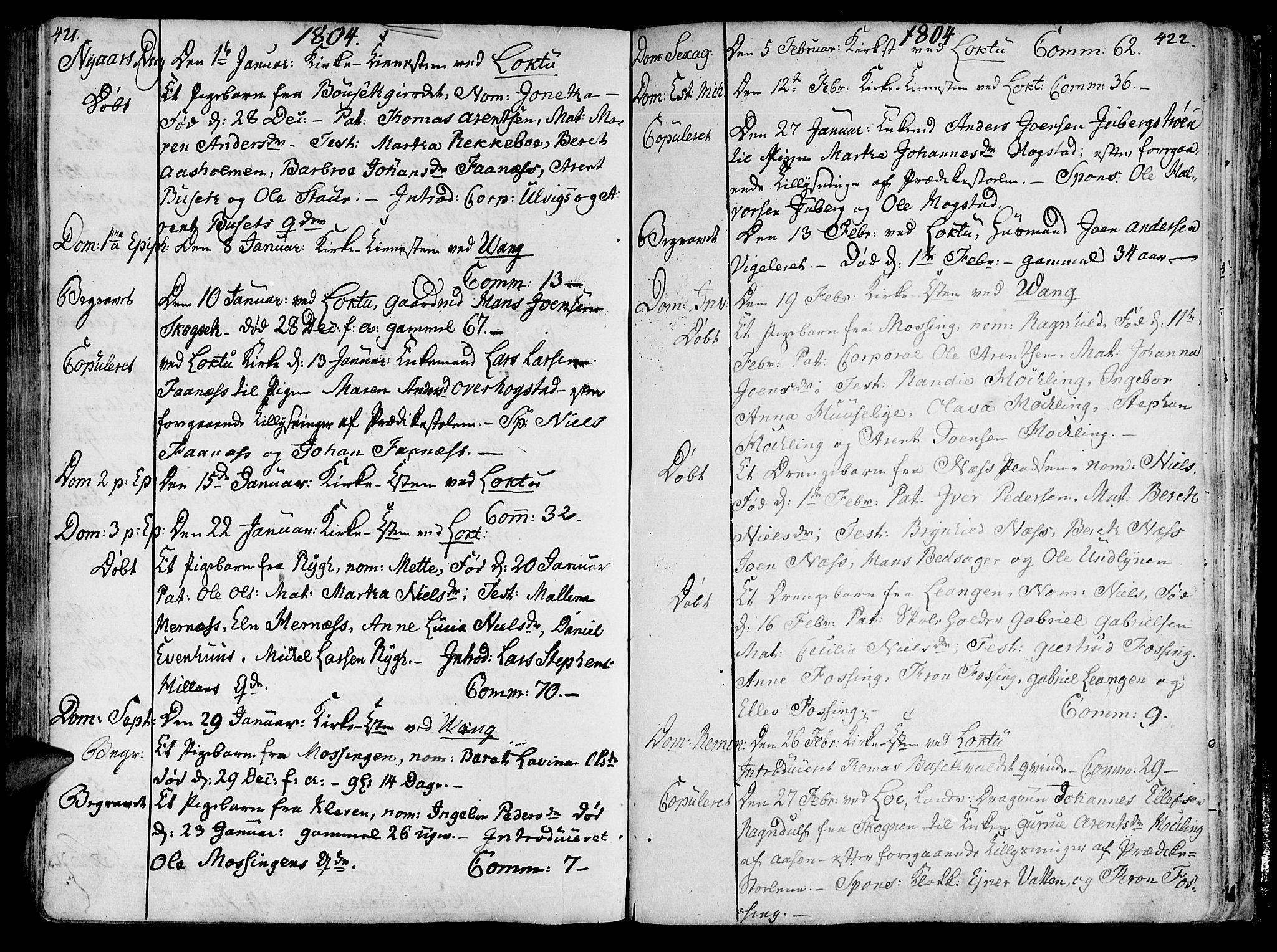 SAT, Ministerialprotokoller, klokkerbøker og fødselsregistre - Nord-Trøndelag, 713/L0110: Ministerialbok nr. 713A02, 1778-1811, s. 421-422