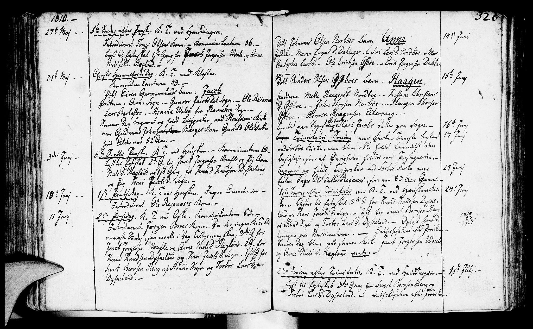 SAST, Rennesøy sokneprestkontor, H/Ha/Haa/L0003: Ministerialbok nr. A 3, 1772-1815, s. 326