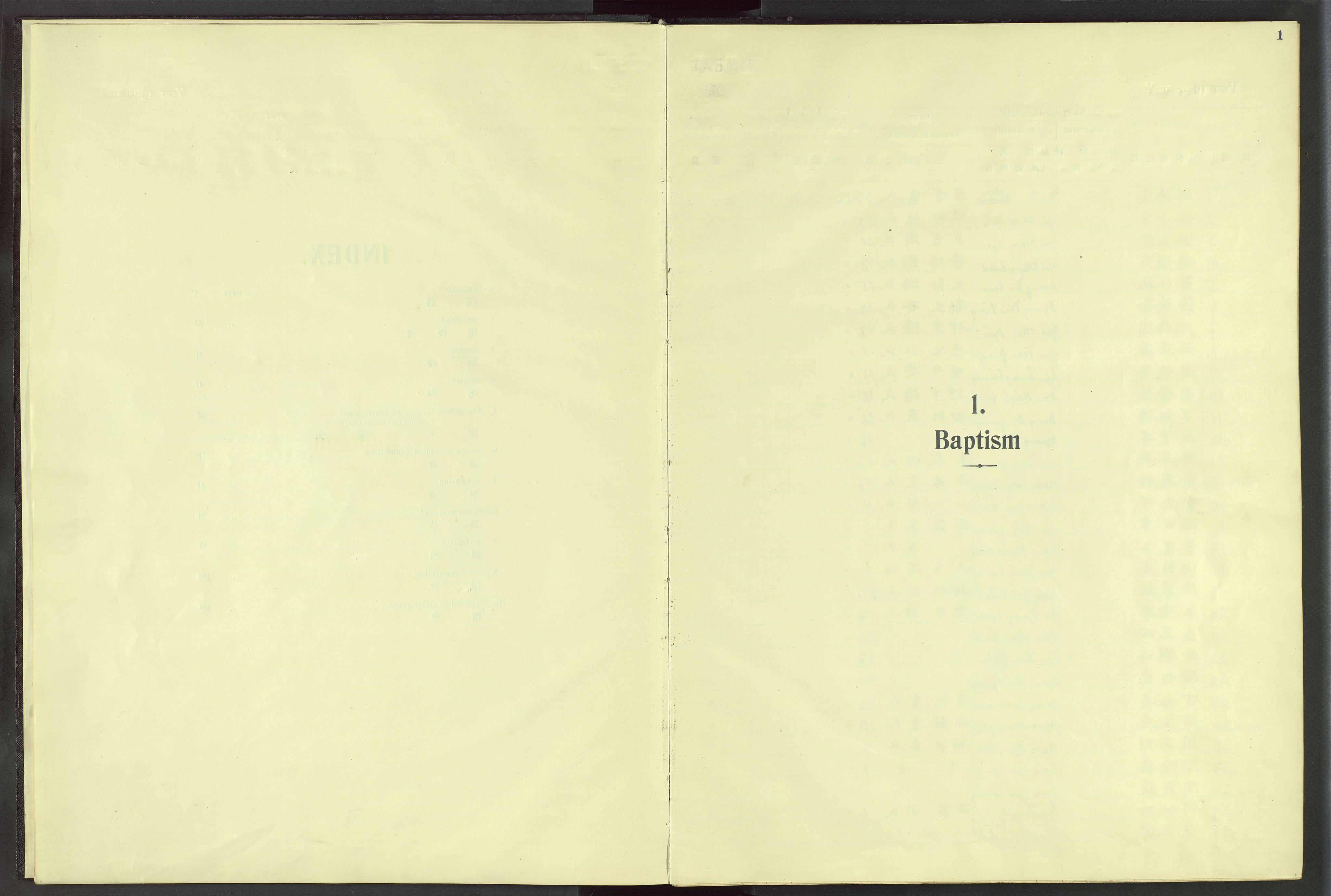 VID, Det Norske Misjonsselskap - utland - Kina (Hunan), Dm/L0024: Ministerialbok nr. 62, 1931-1948, s. 1