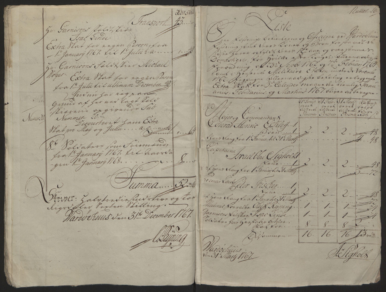 RA, Rentekammeret inntil 1814, Reviderte regnskaper, Fogderegnskap, R69/L4910: Ekstraskatten  Finnmark/Vardøhus, 1762-1772, s. 239