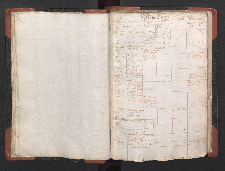 RA, Sogneprestenes manntall 1664-1666, nr. 35: Helgeland prosti og Salten prosti, 1664-1666, s. 39-40