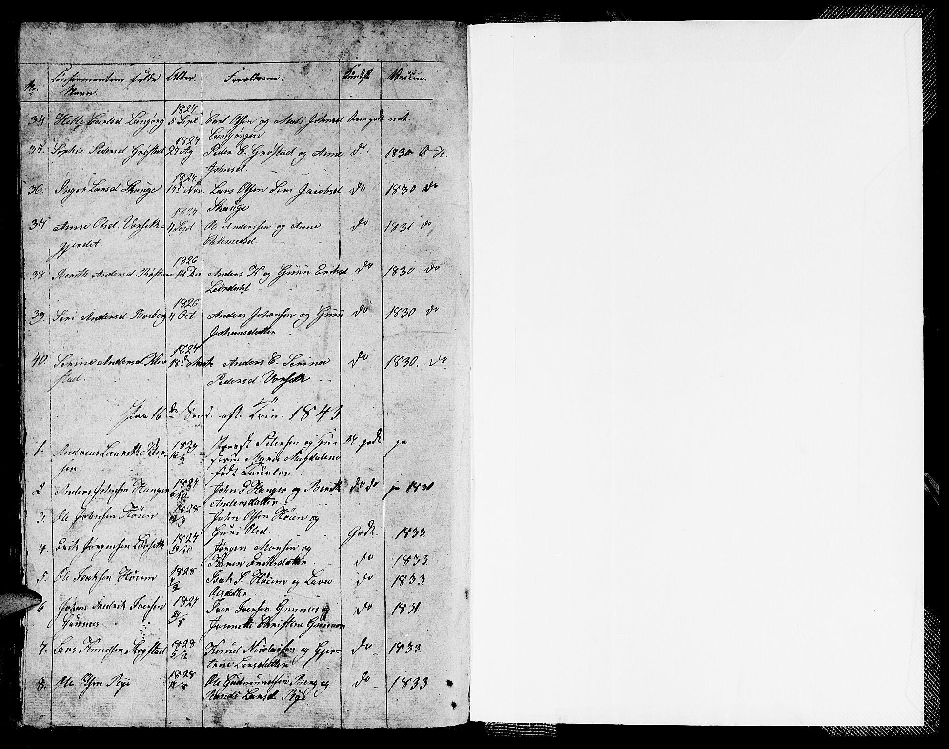 SAT, Ministerialprotokoller, klokkerbøker og fødselsregistre - Sør-Trøndelag, 612/L0386: Klokkerbok nr. 612C02, 1834-1845, s. 93