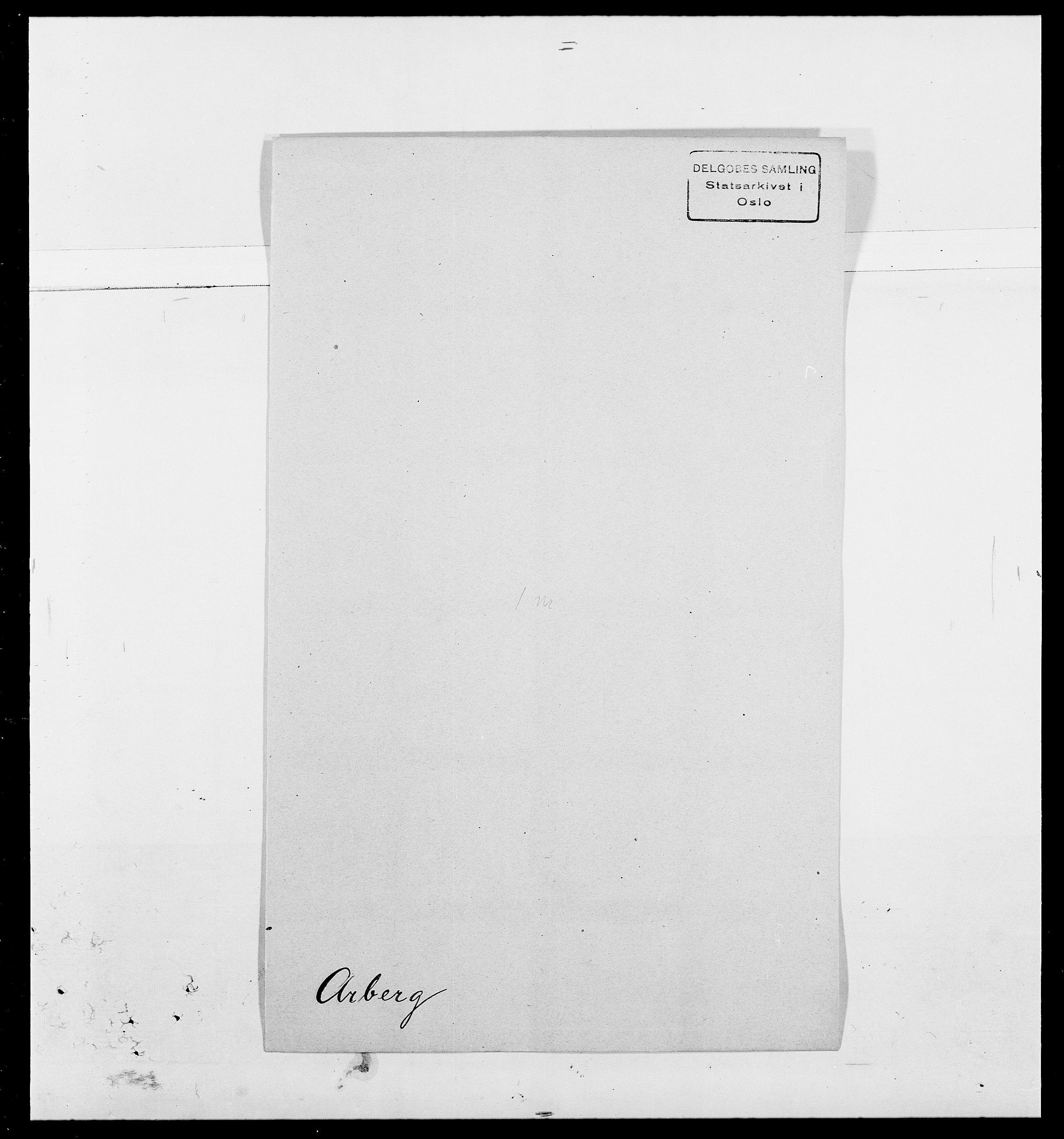 SAO, Delgobe, Charles Antoine - samling, D/Da/L0002: Anker, Ancher - Bauner, s. 217