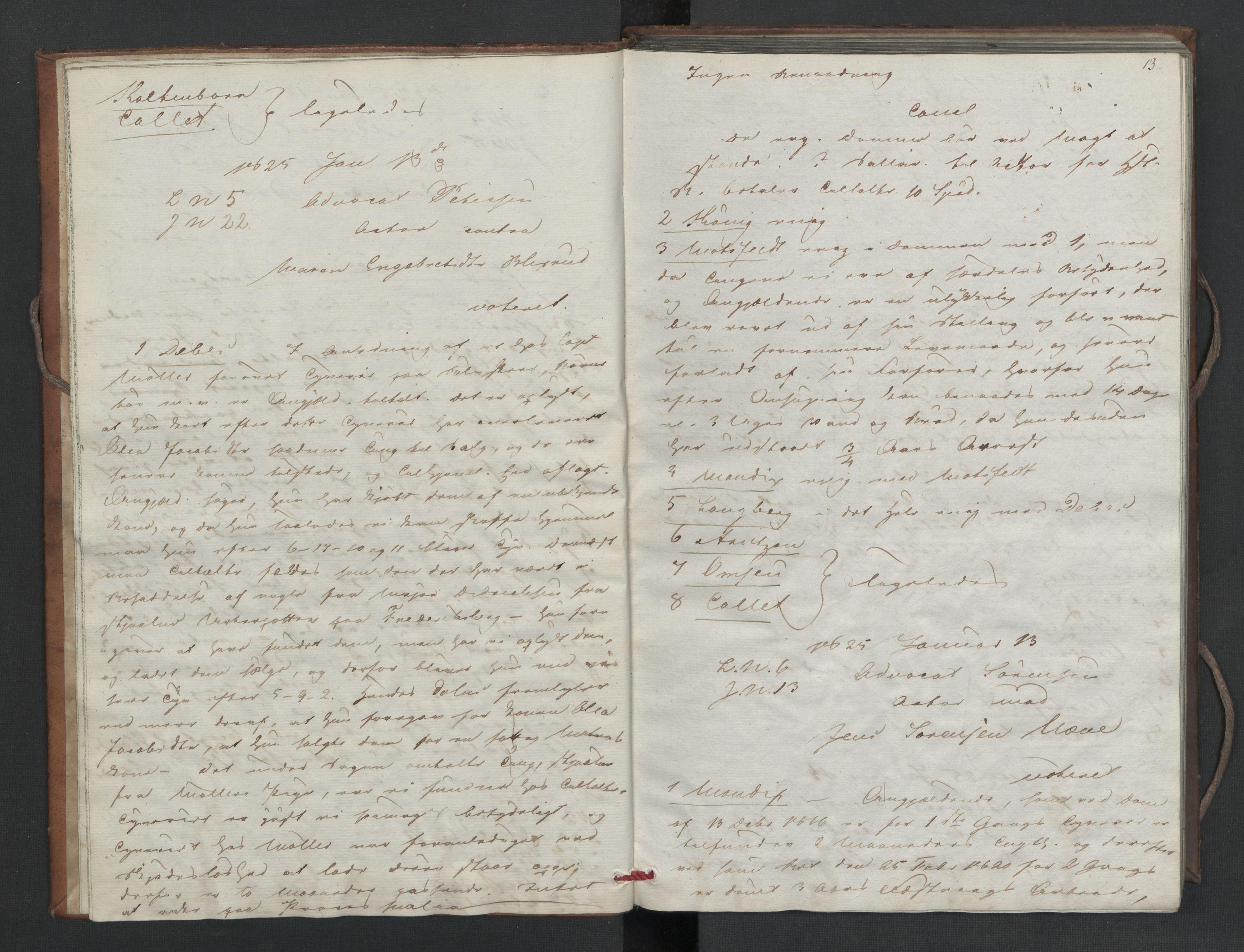 RA, Høyesterett, E/Eb/Eba/L0010: Voteringsprotokoller, 1825, s. 12-13