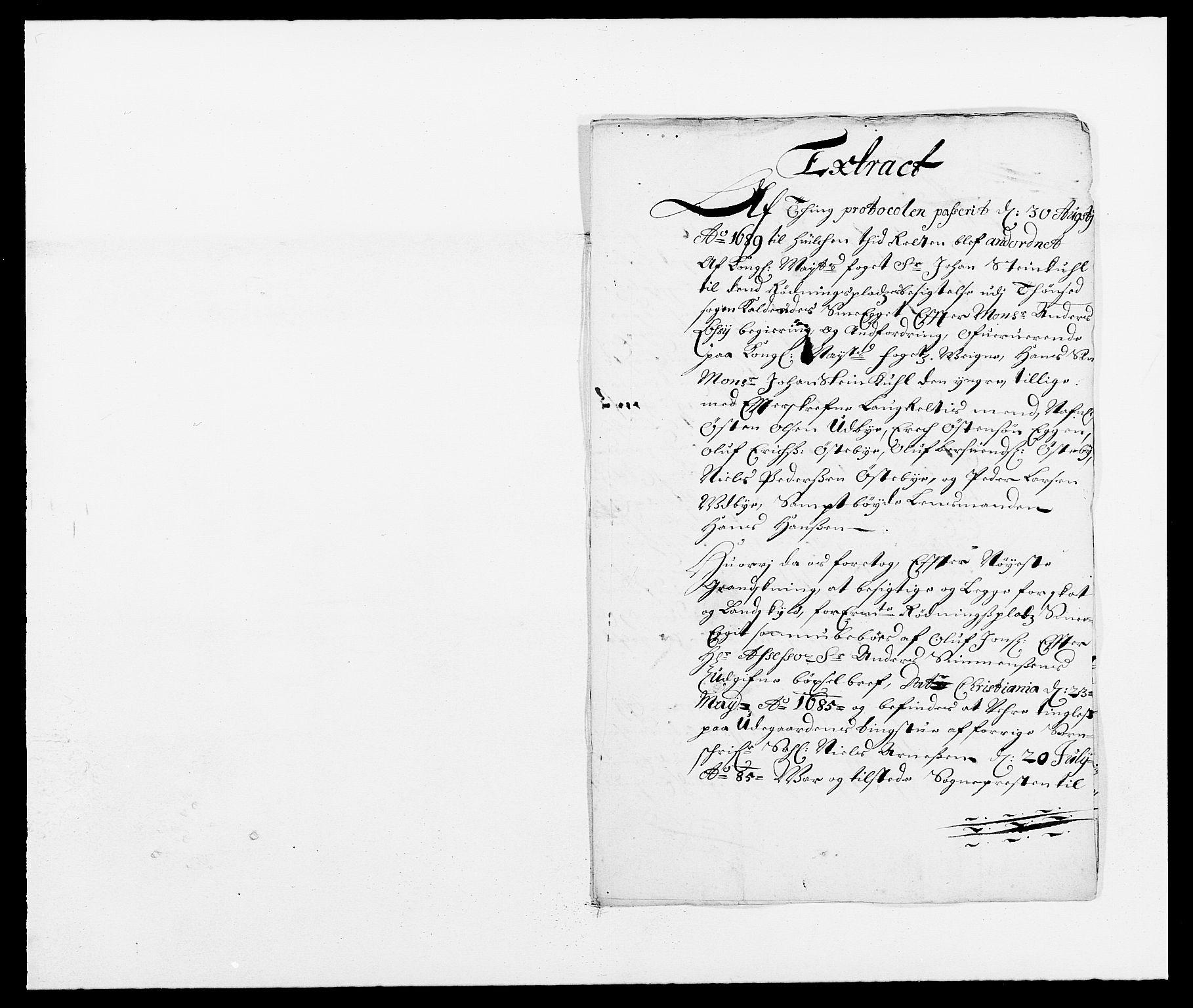 RA, Rentekammeret inntil 1814, Reviderte regnskaper, Fogderegnskap, R13/L0827: Fogderegnskap Solør, Odal og Østerdal, 1689, s. 234