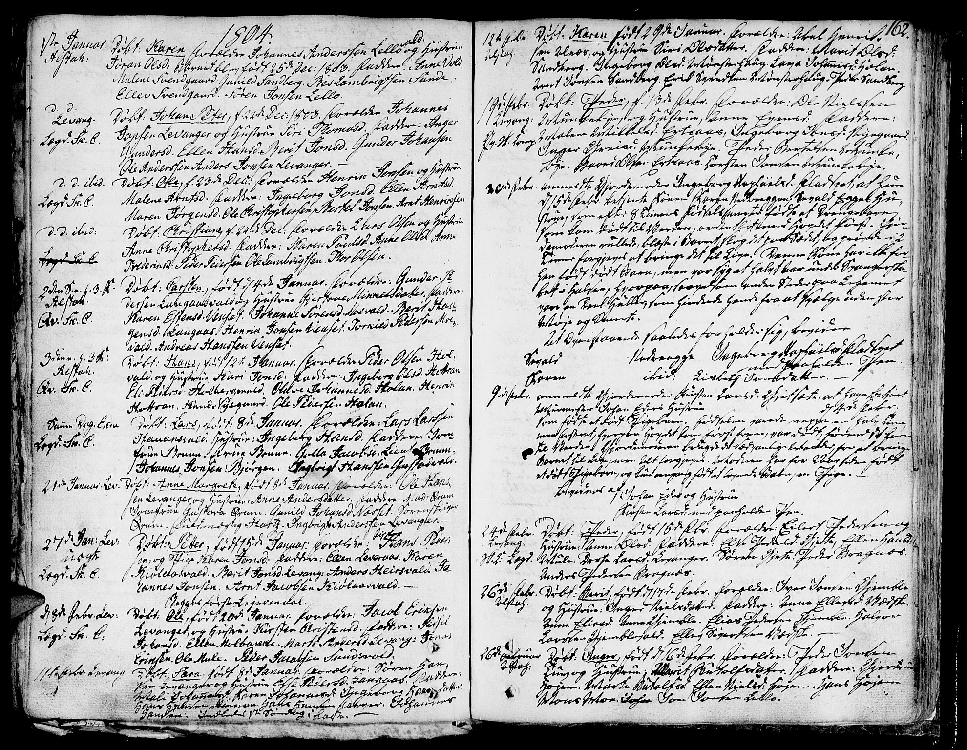 SAT, Ministerialprotokoller, klokkerbøker og fødselsregistre - Nord-Trøndelag, 717/L0142: Ministerialbok nr. 717A02 /1, 1783-1809, s. 162