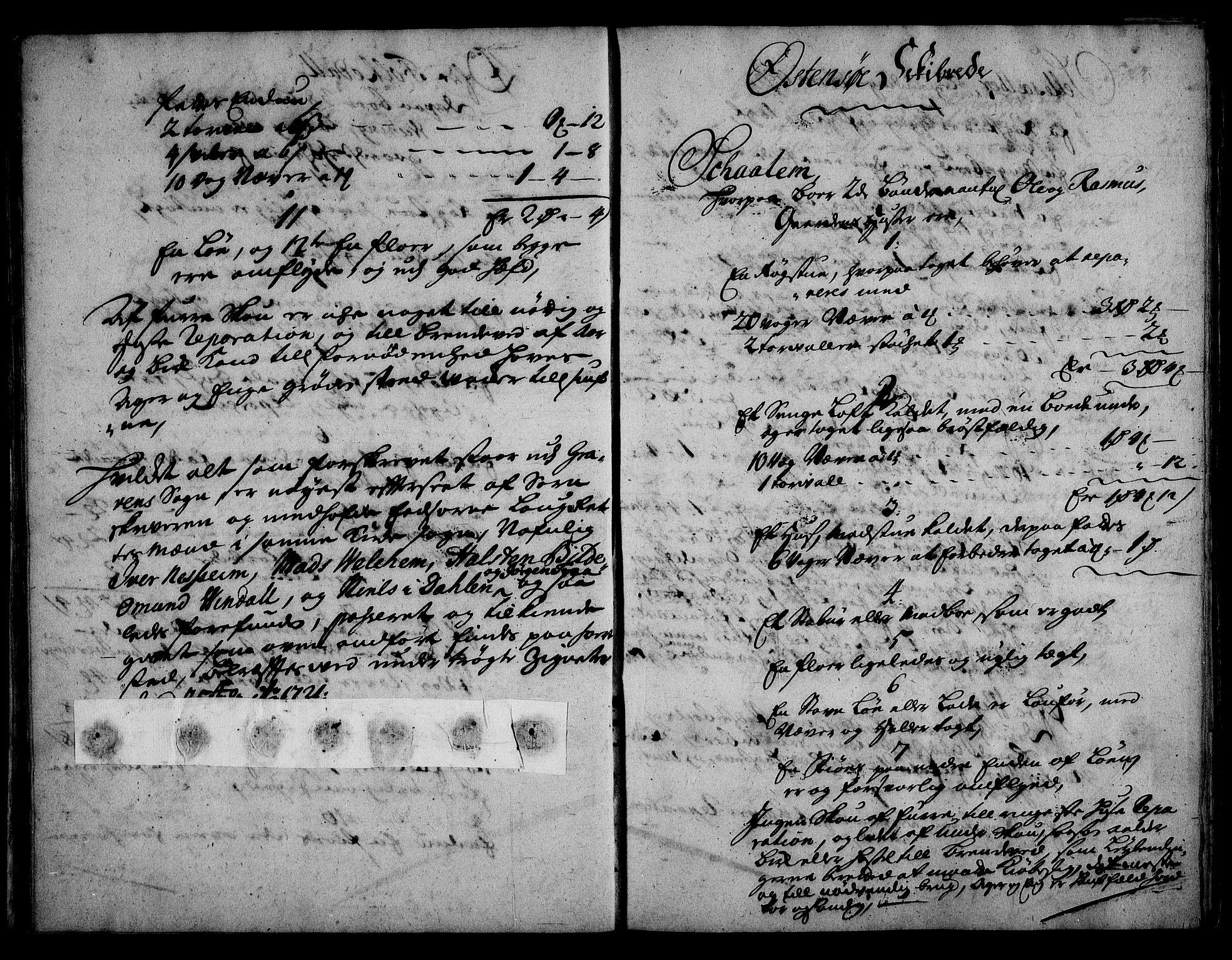 RA, Rentekammeret inntil 1814, Realistisk ordnet avdeling, On/L0003: [Jj 4]: Kommisjonsforretning over Vilhelm Hanssøns forpaktning av Halsnøy klosters gods, 1721-1729, s. 89