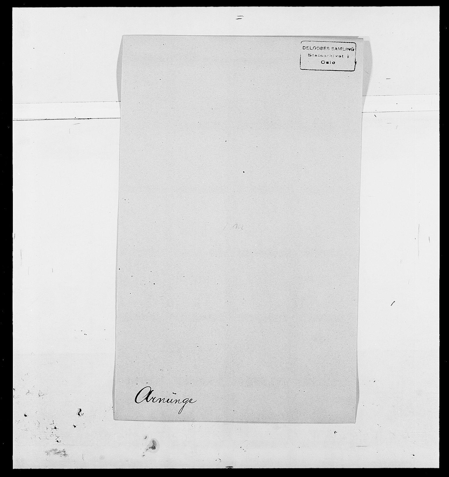SAO, Delgobe, Charles Antoine - samling, D/Da/L0002: Anker, Ancher - Bauner, s. 366