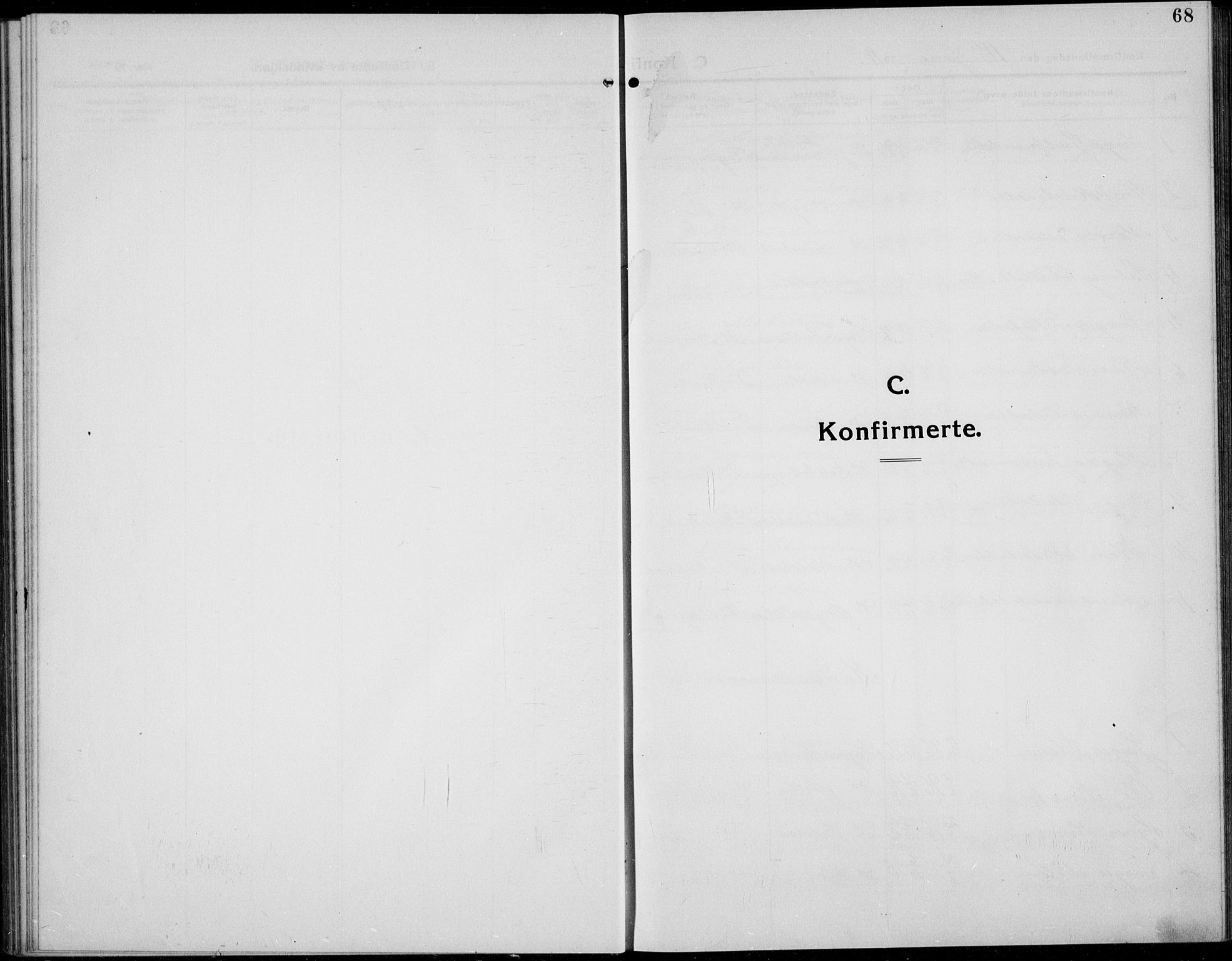 SAH, Øystre Slidre prestekontor, Klokkerbok nr. 8, 1911-1938, s. 68