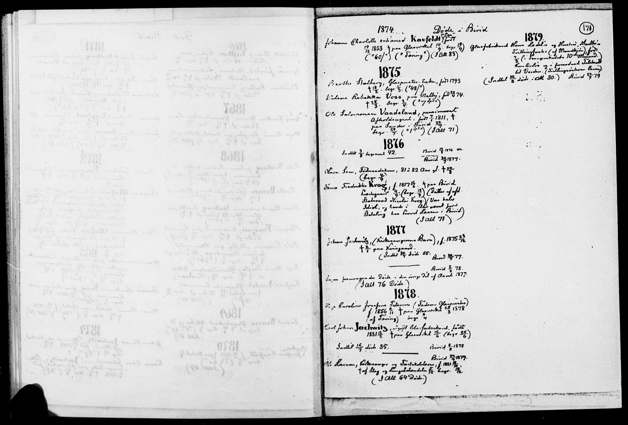 SAH, Biri prestekontor, Ministerialbok, 1730-1879, s. 171