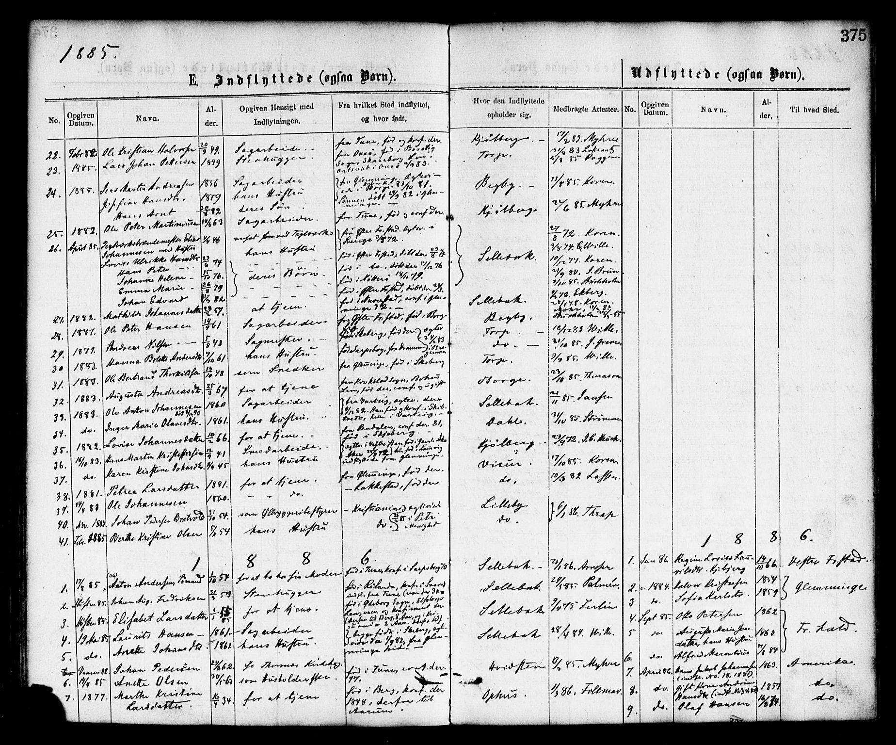 SAO, Borge prestekontor Kirkebøker, F/Fa/L0007: Ministerialbok nr. I 7, 1875-1886, s. 375