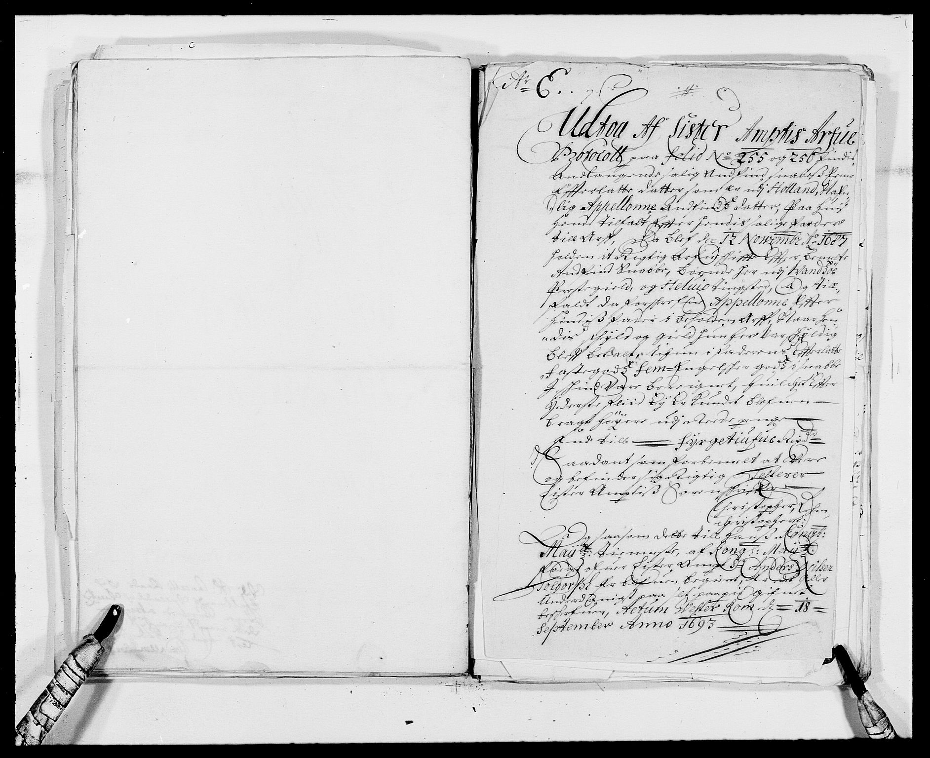 RA, Rentekammeret inntil 1814, Reviderte regnskaper, Fogderegnskap, R41/L2536: Fogderegnskap Lista, 1690-1693, s. 230