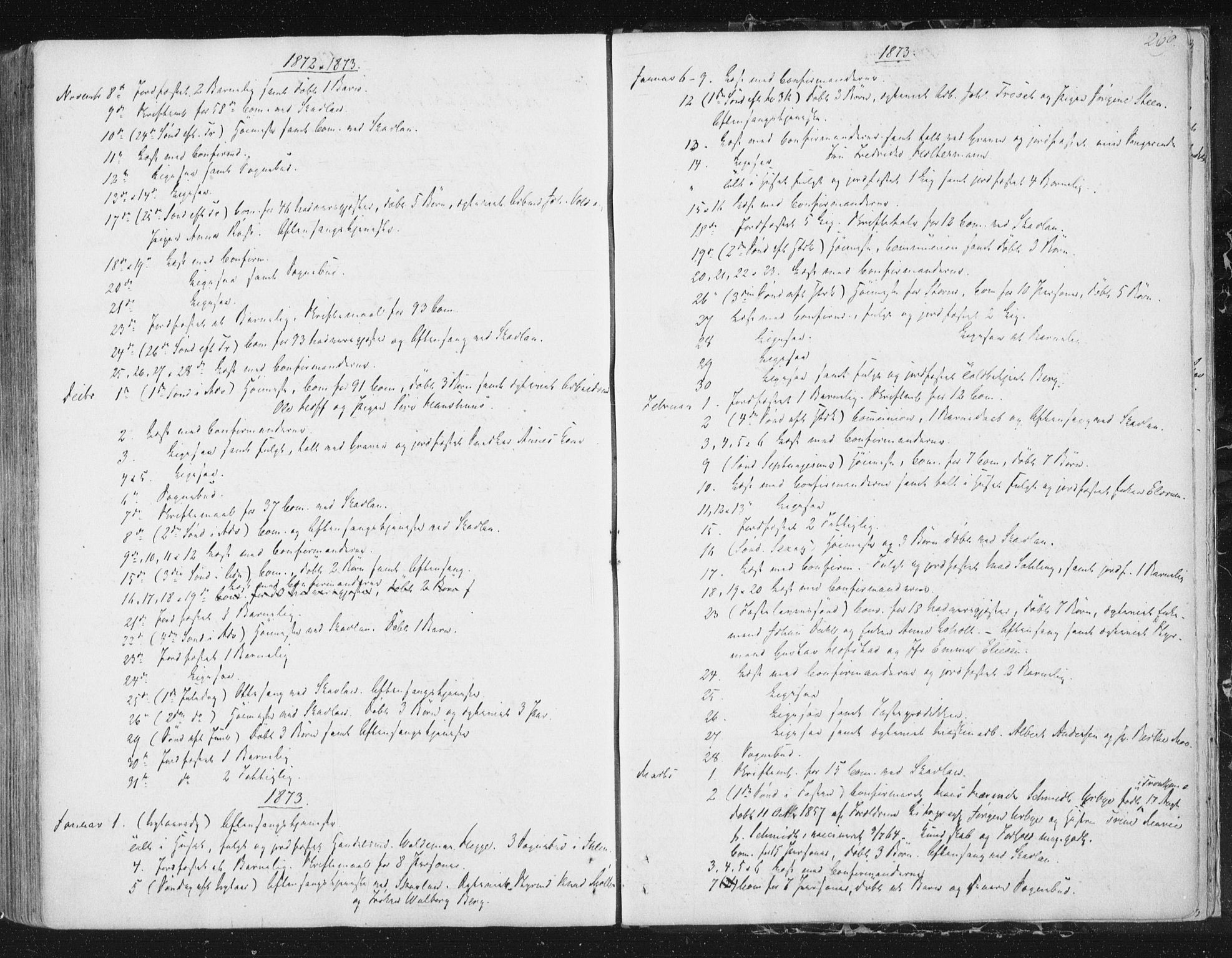 SAT, Ministerialprotokoller, klokkerbøker og fødselsregistre - Sør-Trøndelag, 602/L0127: Residerende kapellans bok nr. 602B01, 1821-1875, s. 269