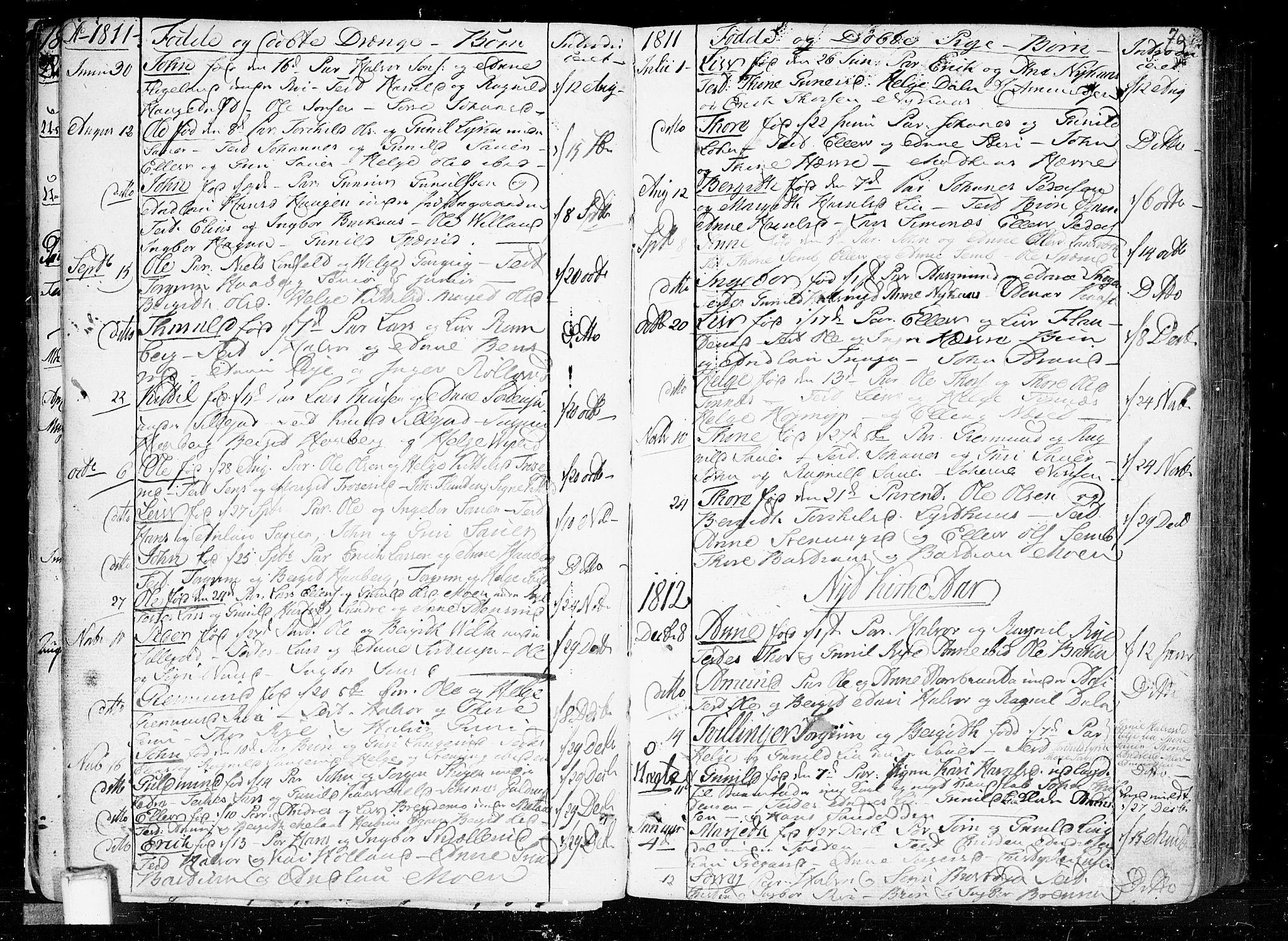 SAKO, Heddal kirkebøker, F/Fa/L0004: Ministerialbok nr. I 4, 1784-1814, s. 70