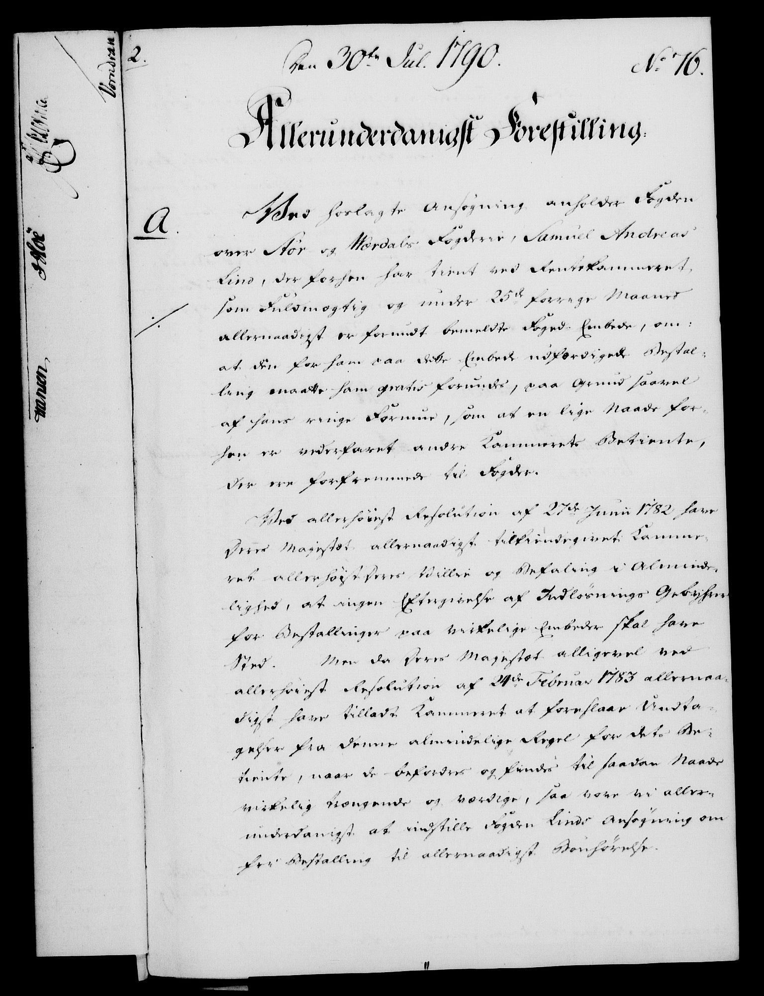 RA, Rentekammeret, Kammerkanselliet, G/Gf/Gfa/L0072: Norsk relasjons- og resolusjonsprotokoll (merket RK 52.72), 1790, s. 512