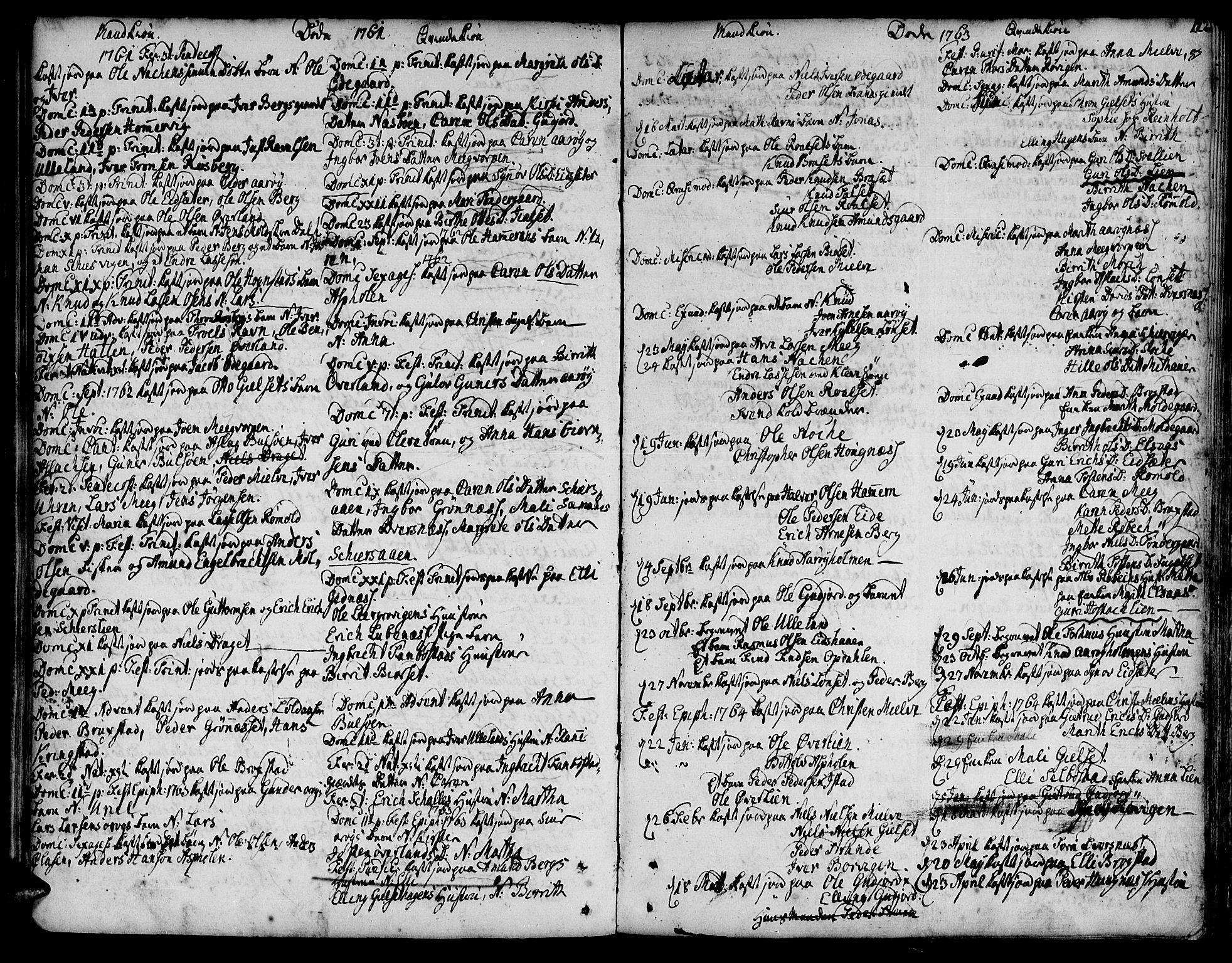 SAT, Ministerialprotokoller, klokkerbøker og fødselsregistre - Møre og Romsdal, 555/L0648: Ministerialbok nr. 555A01, 1759-1793, s. 112