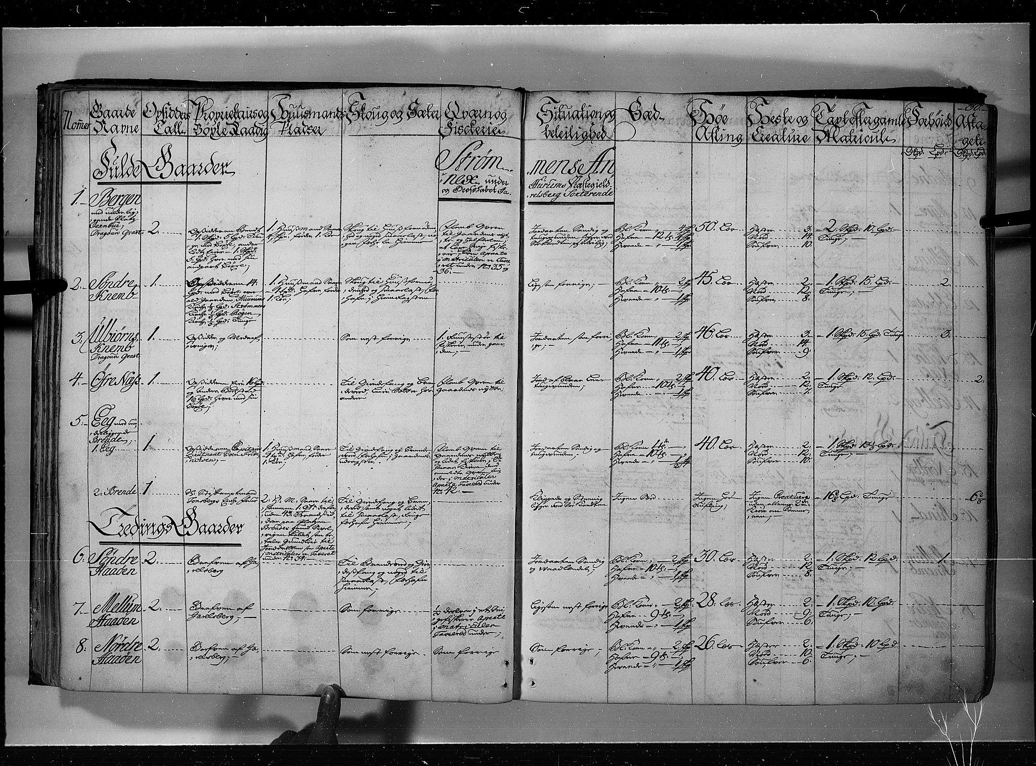 RA, Rentekammeret inntil 1814, Realistisk ordnet avdeling, N/Nb/Nbf/L0115: Jarlsberg grevskap eksaminasjonsprotokoll, 1723, s. 29b-30a