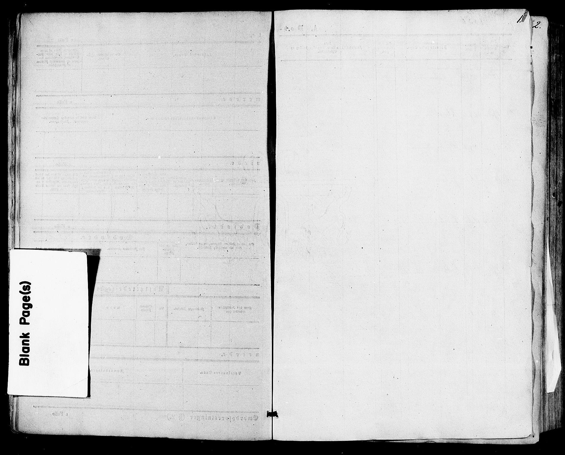 SAKO, Skien kirkebøker, F/Fa/L0007: Ministerialbok nr. 7, 1856-1865, s. 1