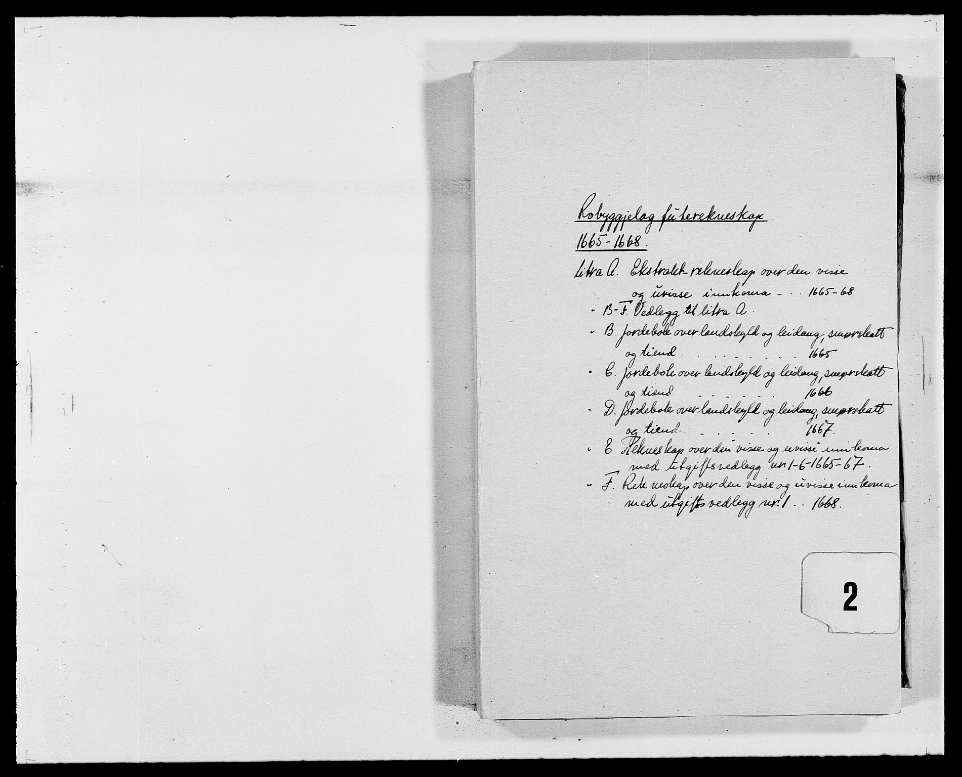 RA, Rentekammeret inntil 1814, Reviderte regnskaper, Fogderegnskap, R40/L2431: Fogderegnskap Råbyggelag, 1664-1668, s. 92