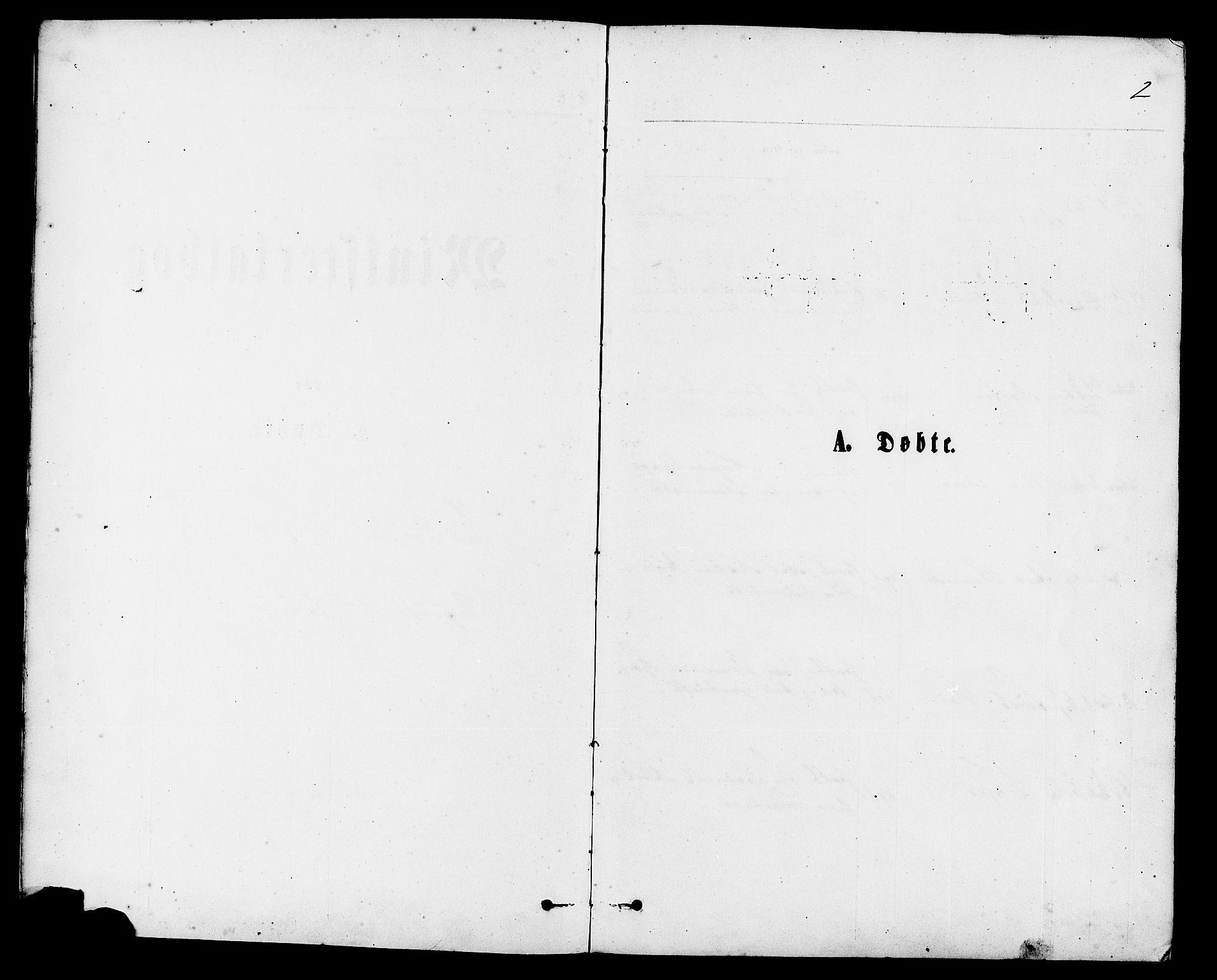SAST, Vikedal sokneprestkontor, IV: Ministerialbok nr. A 9, 1868-1885, s. 2