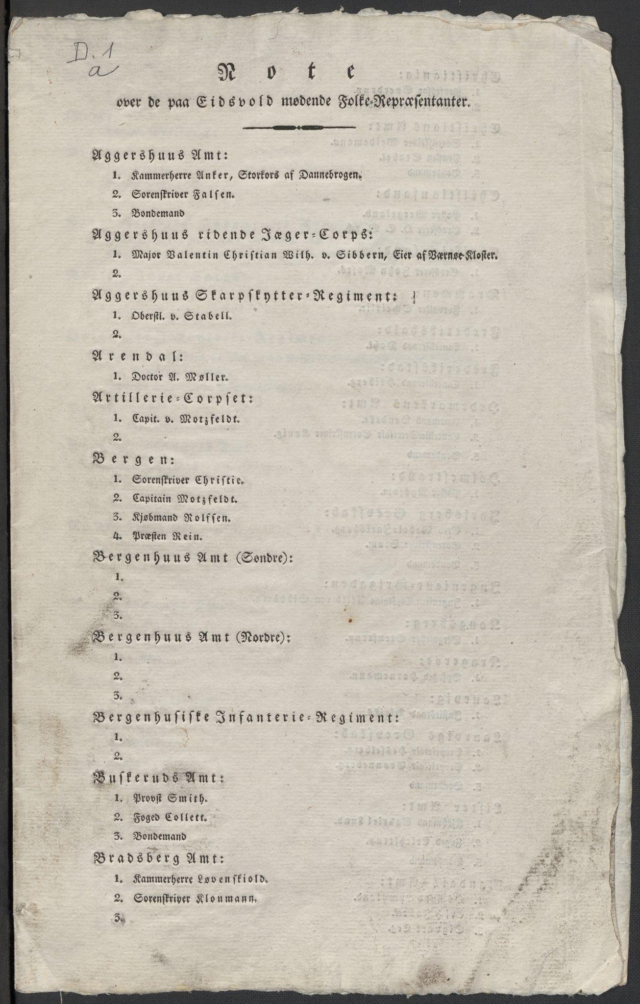 RA, Christie, Wilhelm Frimann Koren, F/L0004, 1814, s. 6