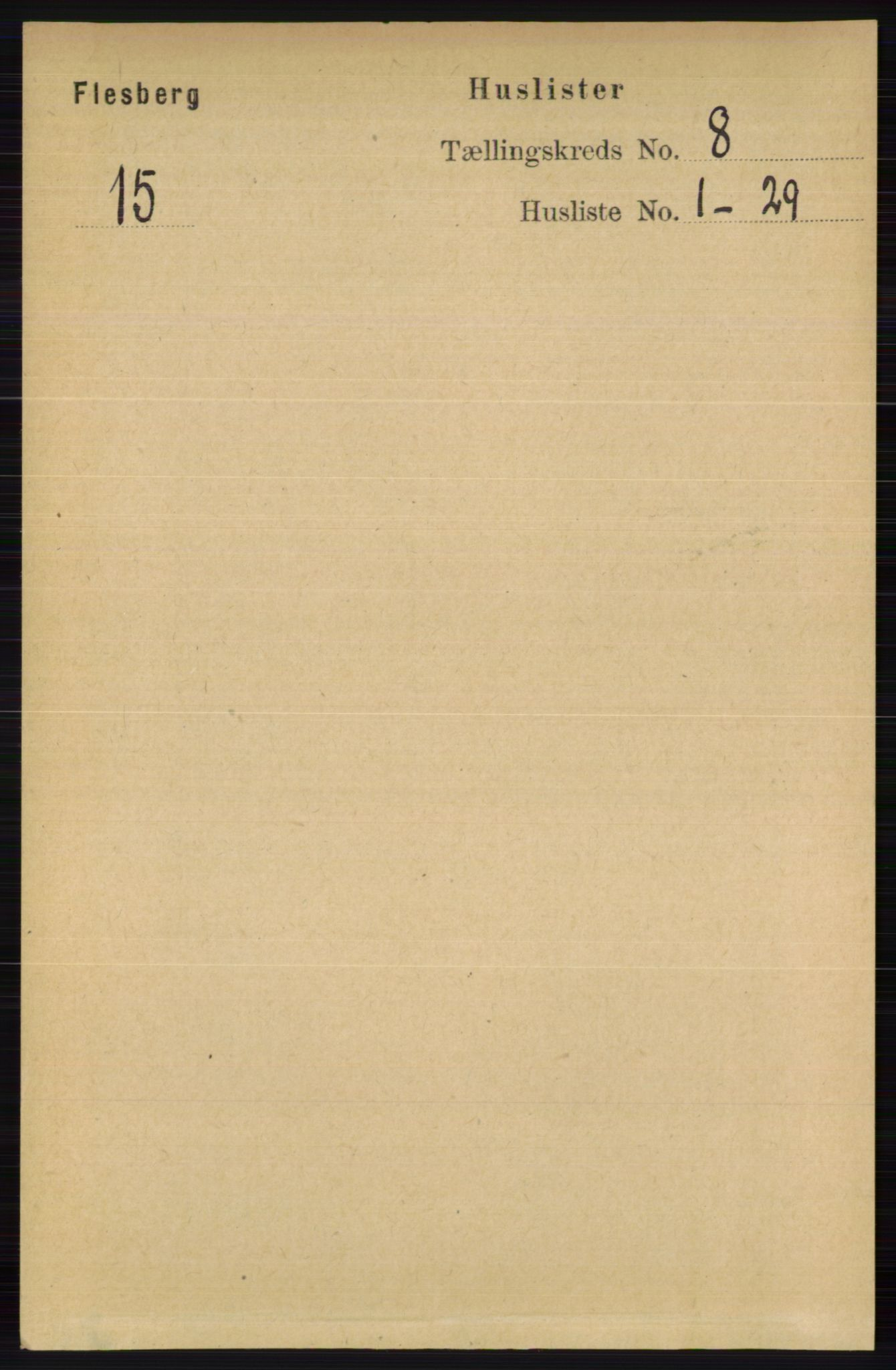 RA, Folketelling 1891 for 0631 Flesberg herred, 1891, s. 1335