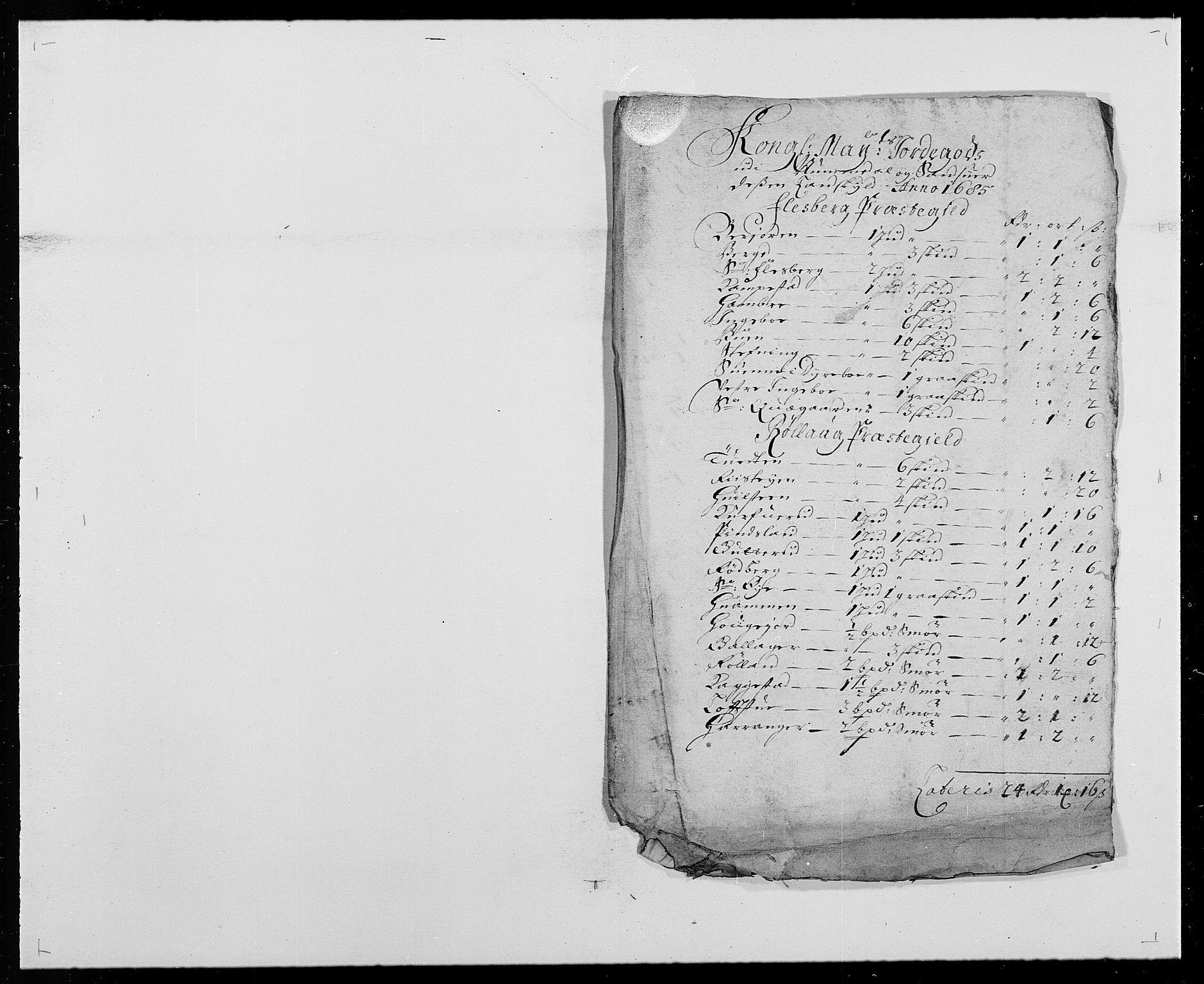 RA, Rentekammeret inntil 1814, Reviderte regnskaper, Fogderegnskap, R24/L1571: Fogderegnskap Numedal og Sandsvær, 1679-1686, s. 238