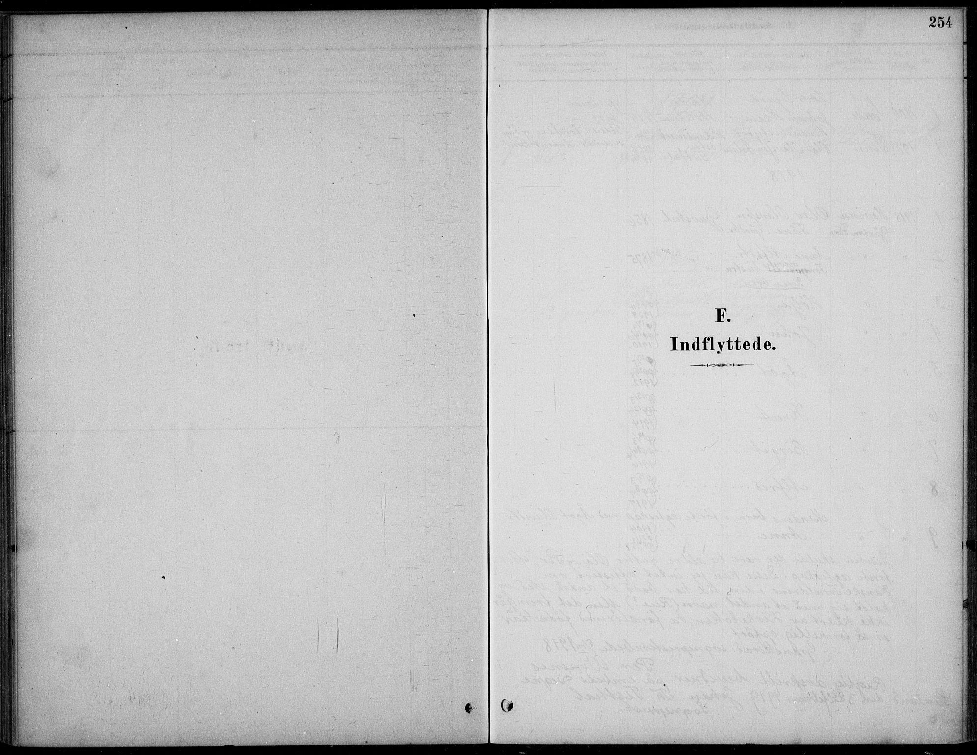 SAKO, Hjartdal kirkebøker, F/Fc/L0002: Ministerialbok nr. III 2, 1880-1936, s. 254