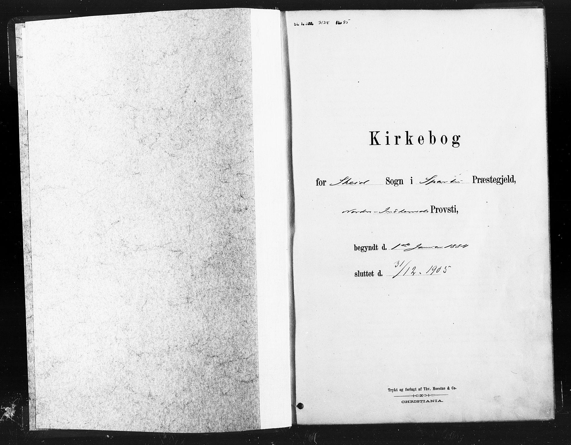 SAT, Ministerialprotokoller, klokkerbøker og fødselsregistre - Nord-Trøndelag, 736/L0361: Ministerialbok nr. 736A01, 1884-1906