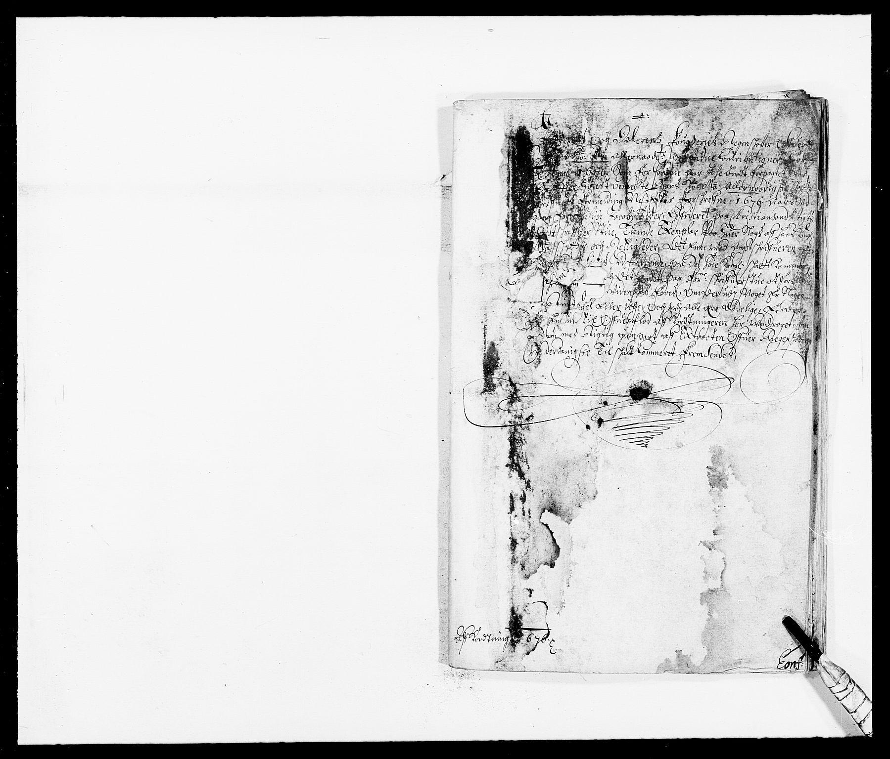 RA, Rentekammeret inntil 1814, Reviderte regnskaper, Fogderegnskap, R46/L2716: Fogderegnskap Jæren og Dalane, 1676, s. 335