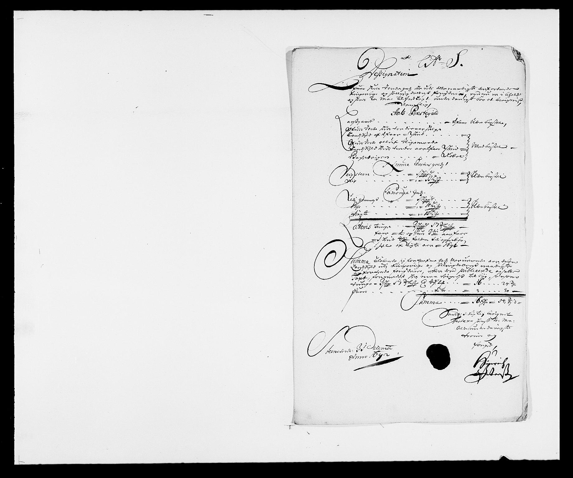 RA, Rentekammeret inntil 1814, Reviderte regnskaper, Fogderegnskap, R21/L1449: Fogderegnskap Ringerike og Hallingdal, 1690-1692, s. 5