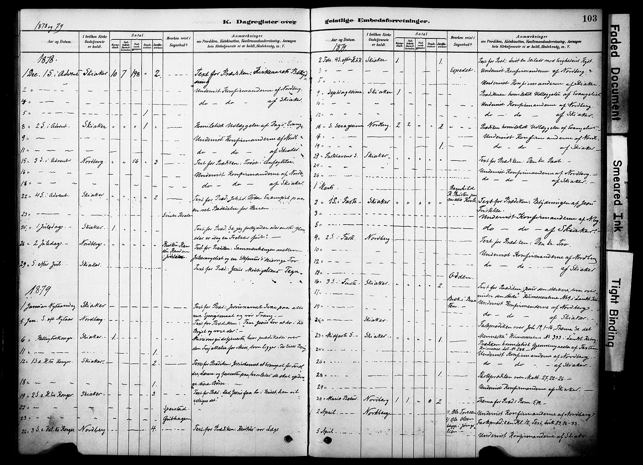 SAH, Skjåk prestekontor, Ministerialbok nr. 2, 1878-1907, s. 103