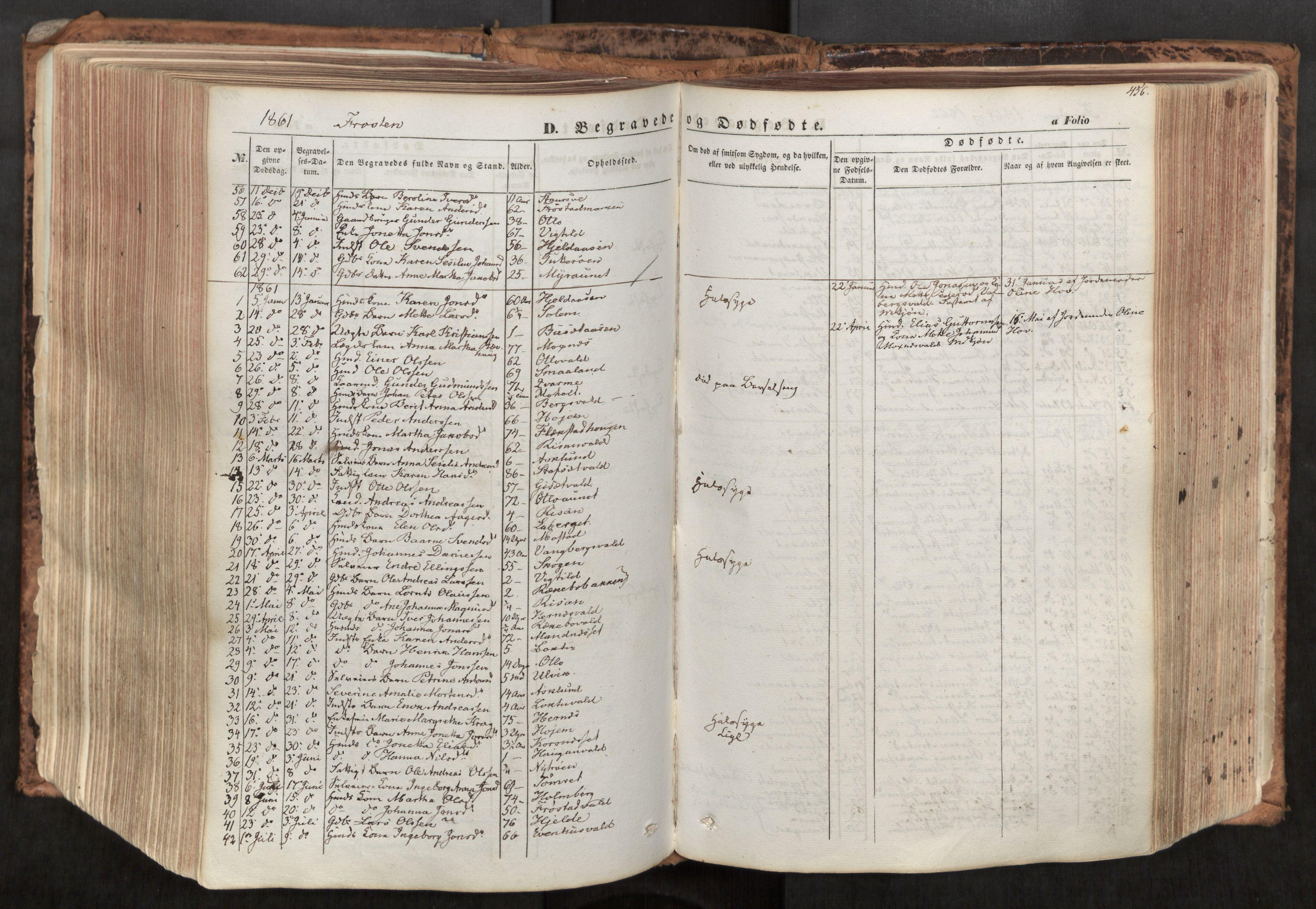 SAT, Ministerialprotokoller, klokkerbøker og fødselsregistre - Nord-Trøndelag, 713/L0116: Ministerialbok nr. 713A07, 1850-1877, s. 456