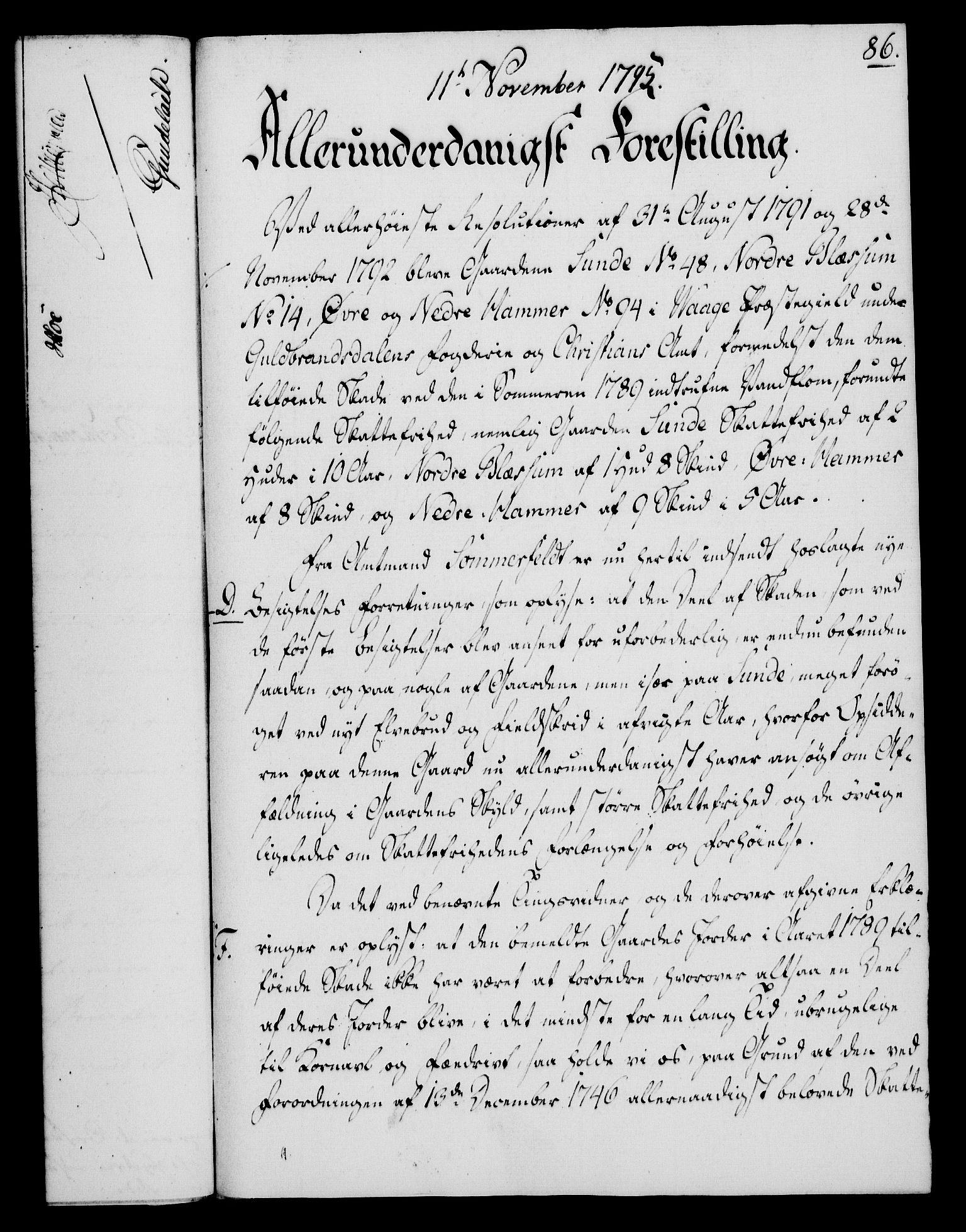 RA, Rentekammeret, Kammerkanselliet, G/Gf/Gfa/L0077: Norsk relasjons- og resolusjonsprotokoll (merket RK 52.77), 1795, s. 419